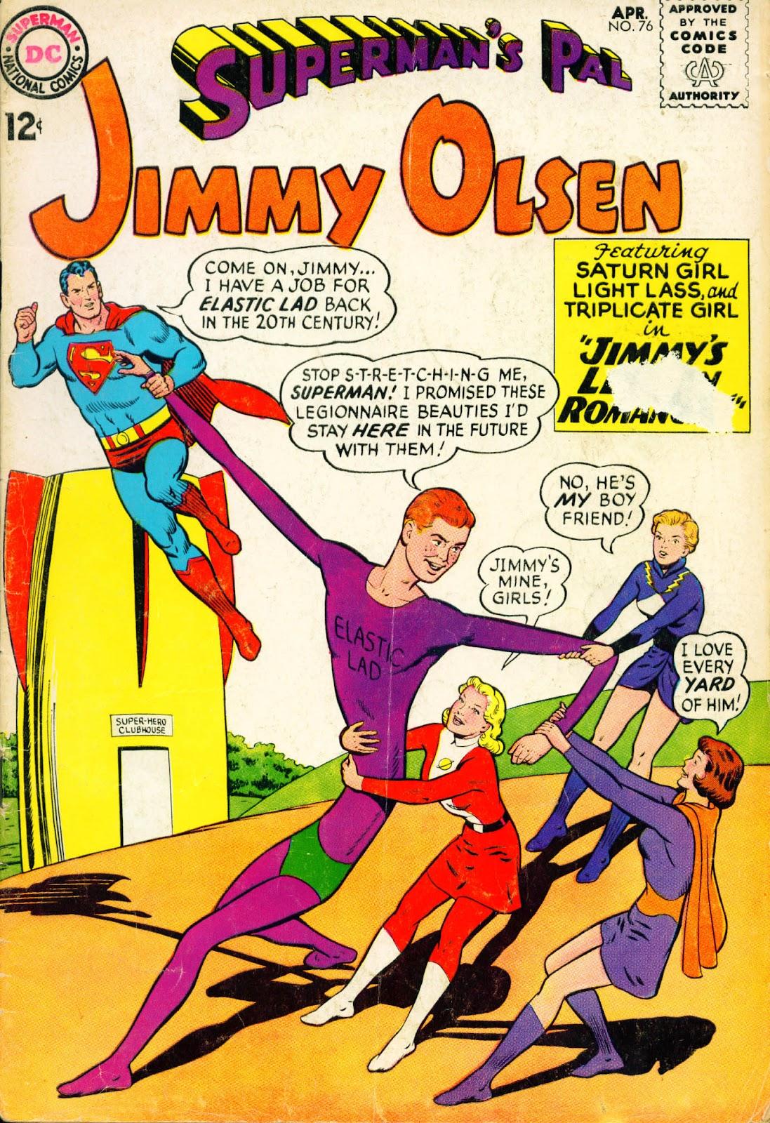 Supermans Pal Jimmy Olsen (1954) 76 Page 1