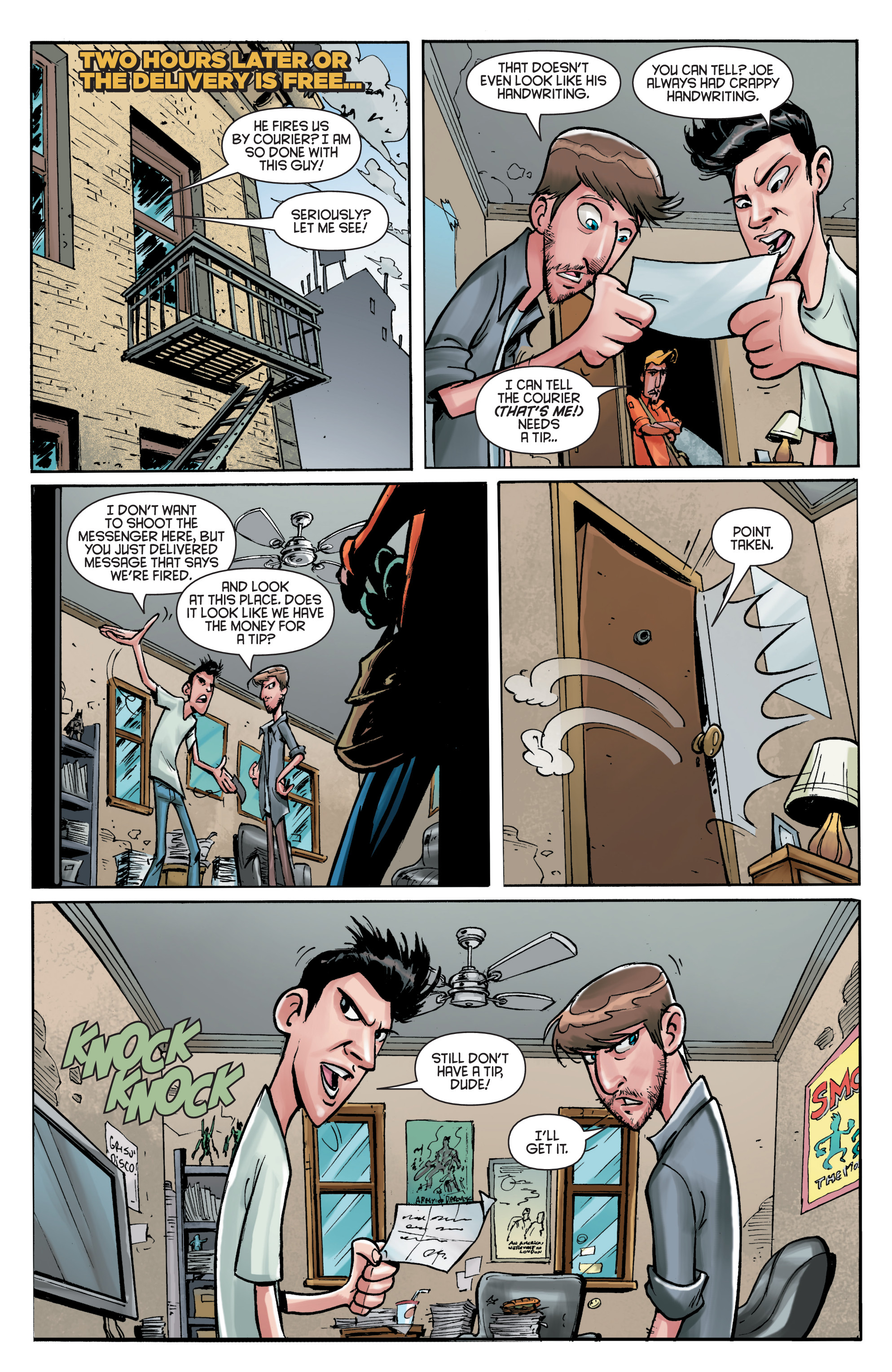 Read online Smosh comic -  Issue #5 - 23