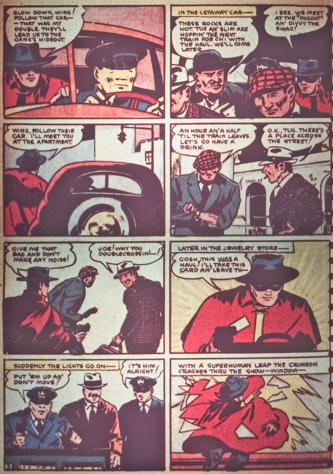 Read online Detective Comics (1937) comic -  Issue #26 - 30