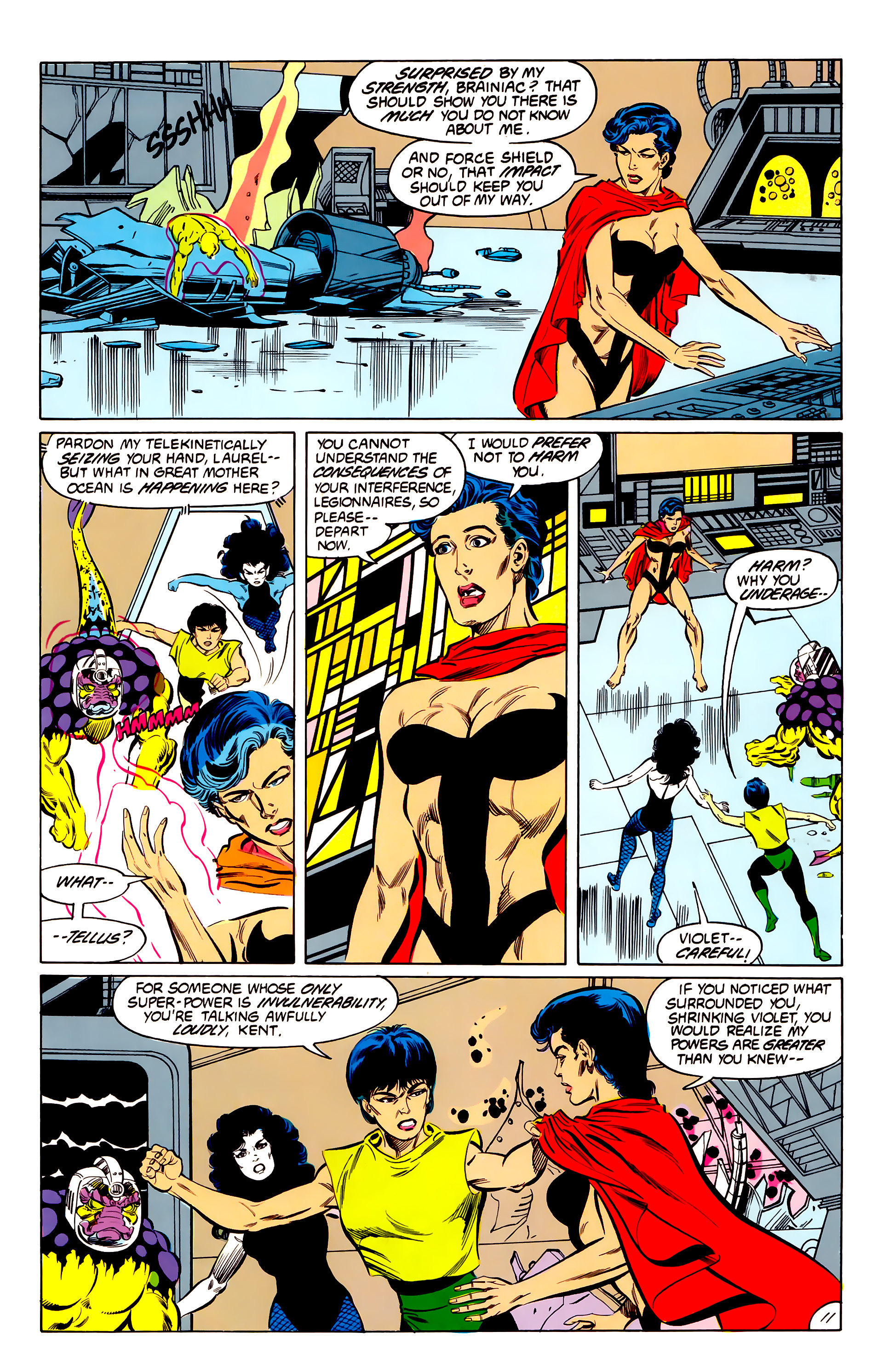 Legion of Super-Heroes (1984) 42 Page 11