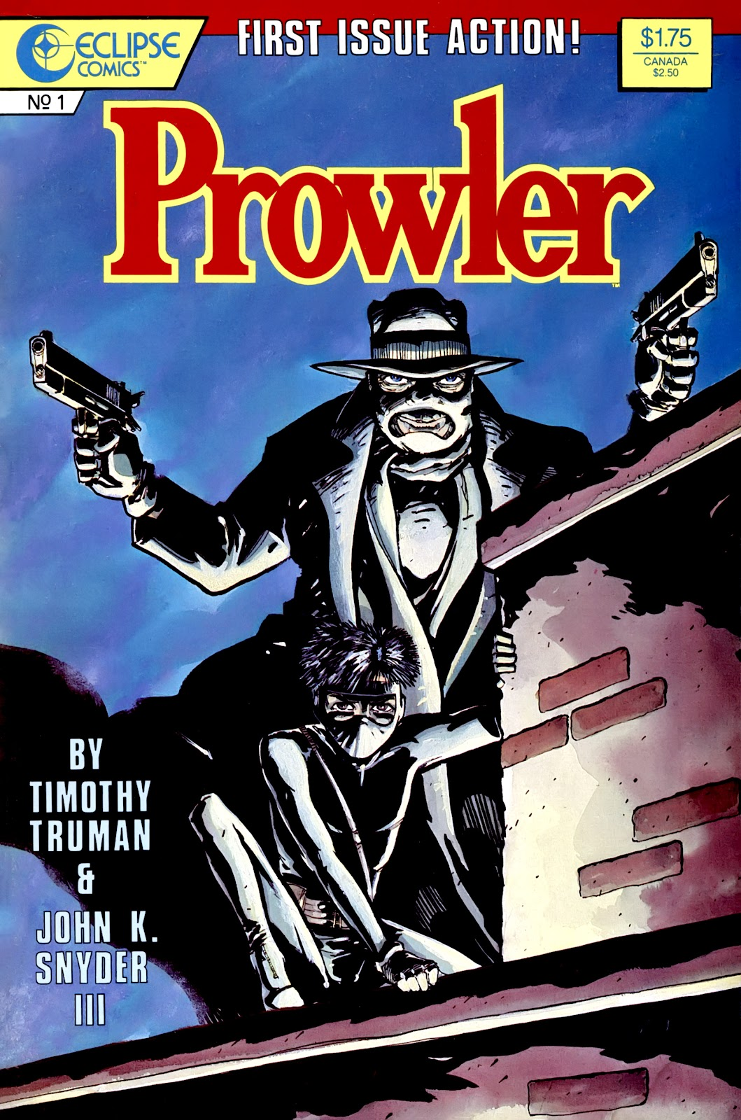 Prowler (1987) issue 1 - Page 1