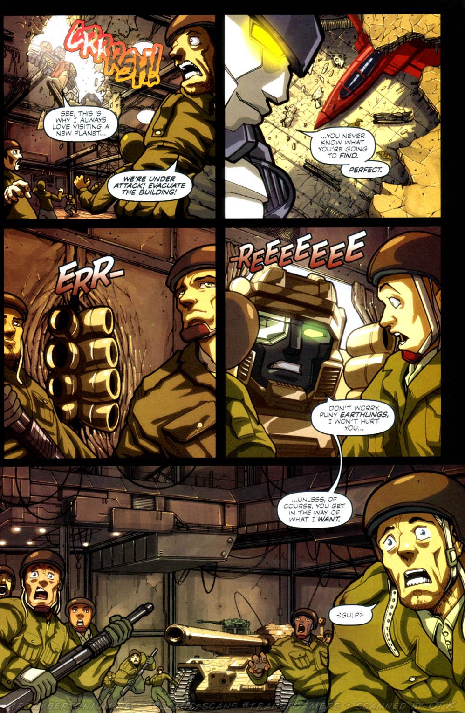 Read online Transformers Armada comic -  Issue #4 - 11