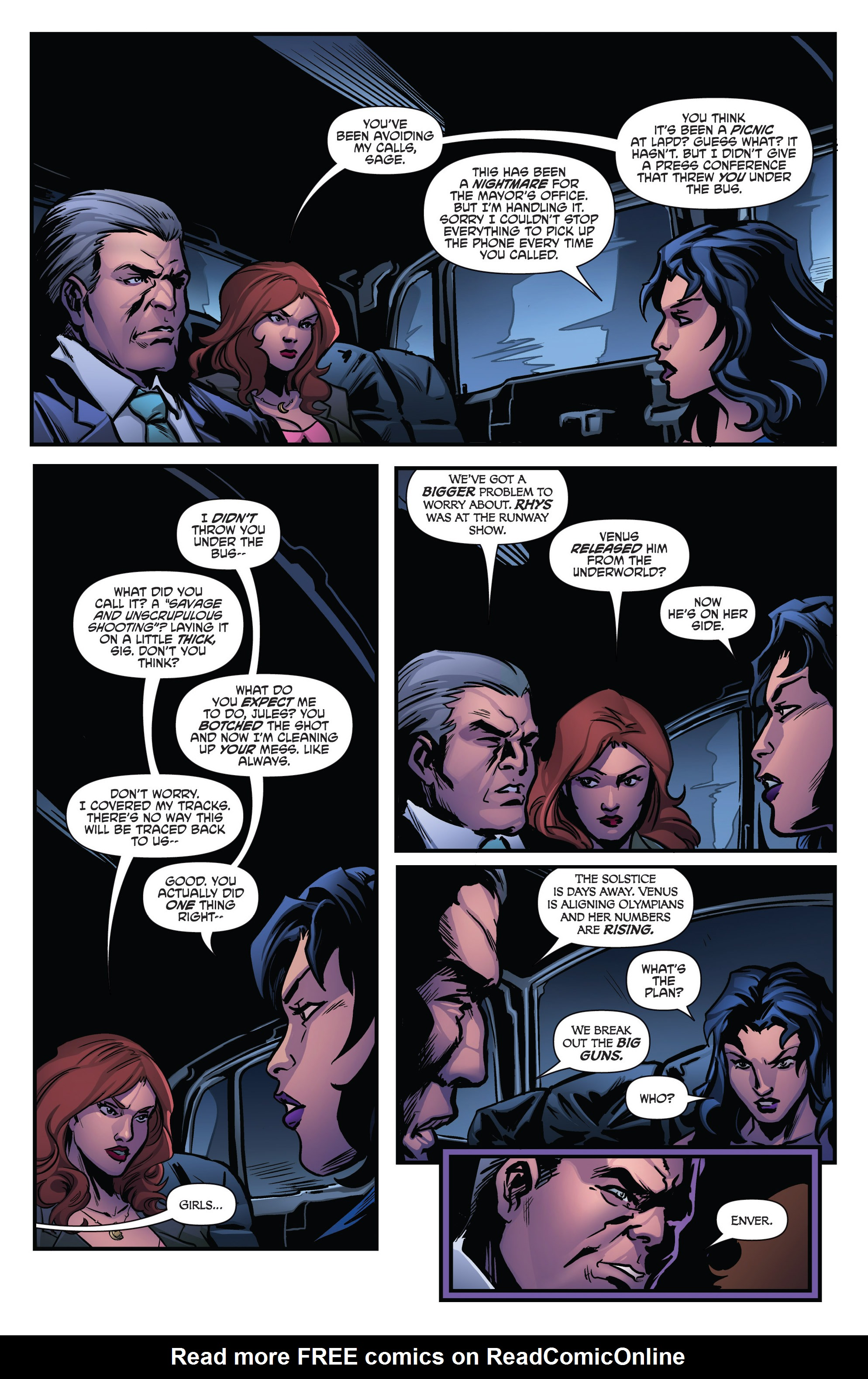 Read online Grimm Fairy Tales presents Goddess Inc. comic -  Issue #4 - 16