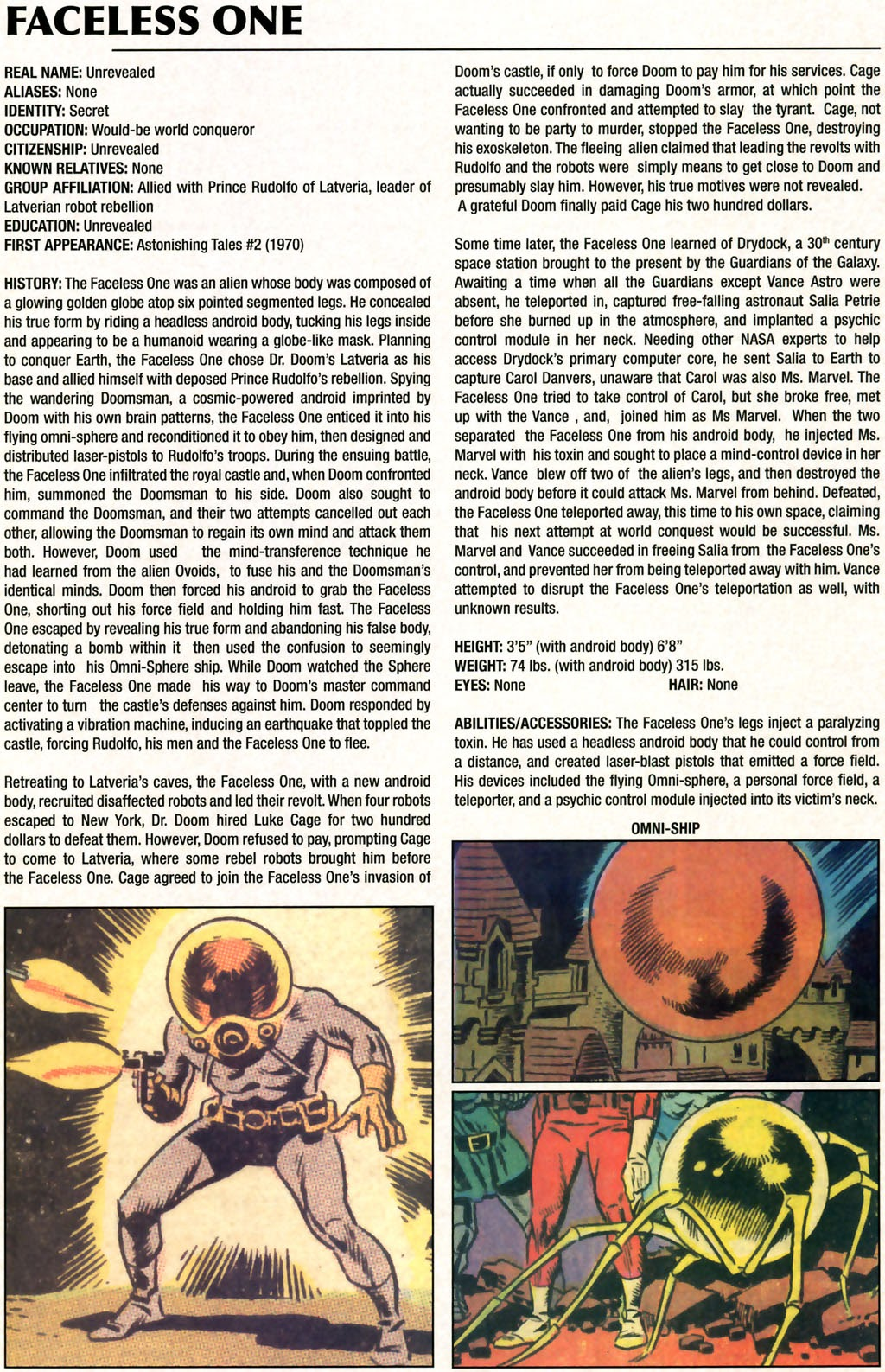 Read online Marvel Legacy: The 1970's Handbook comic -  Issue # Full - 24