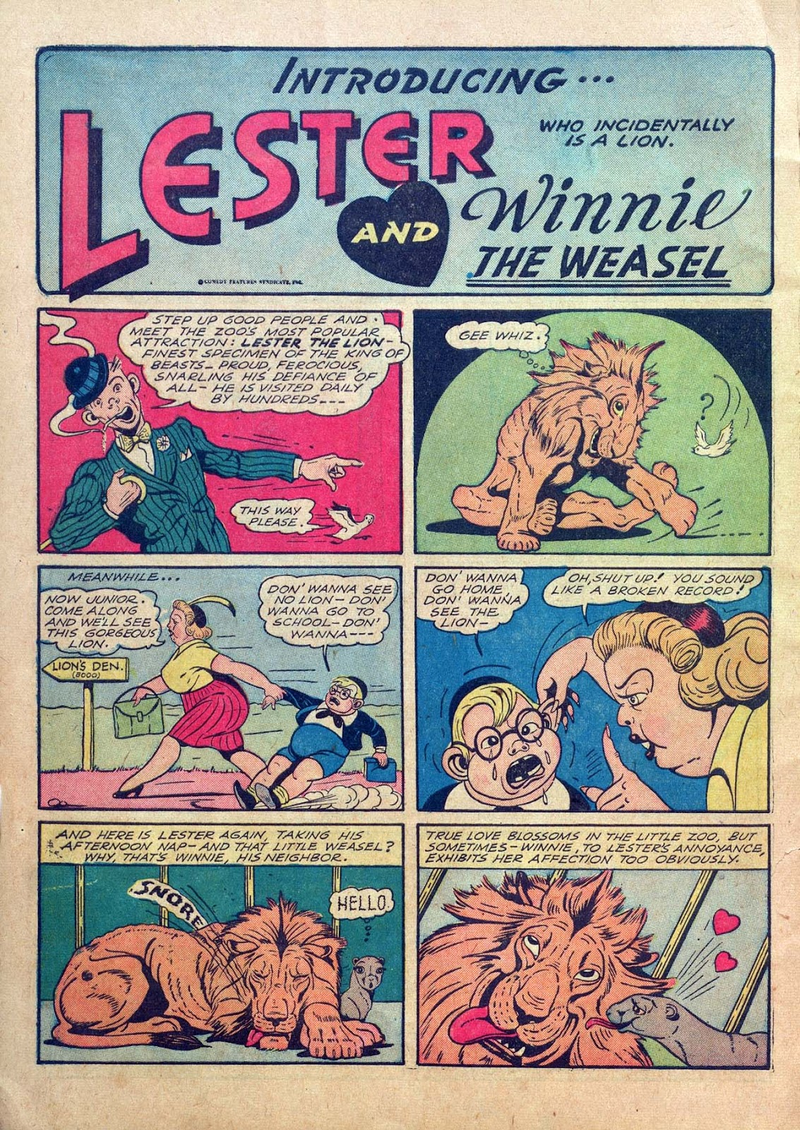 Read online Joker Comics comic -  Issue #1 - 16