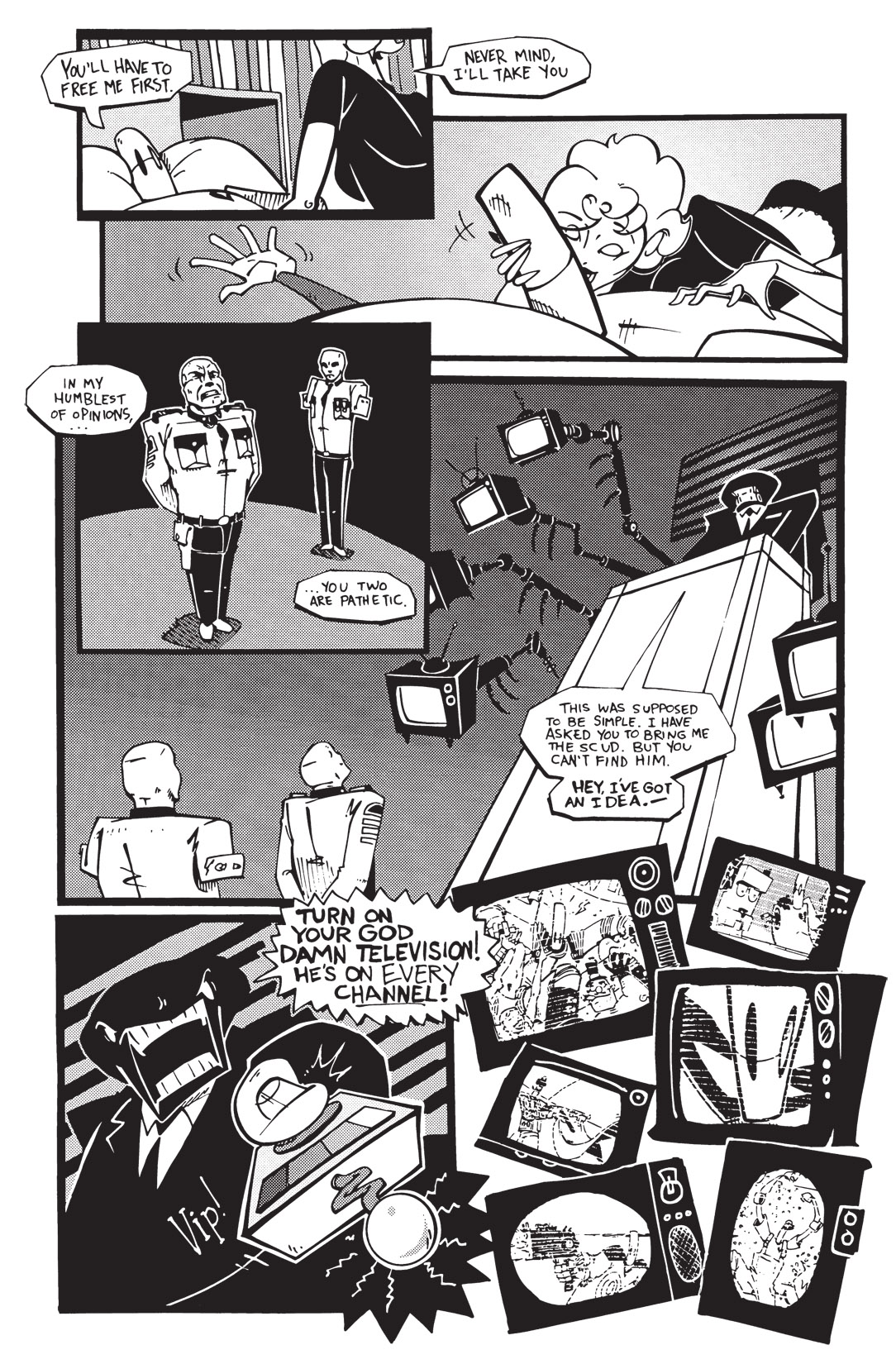 Read online Scud: The Disposable Assassin: The Whole Shebang comic -  Issue # TPB (Part 2) - 146