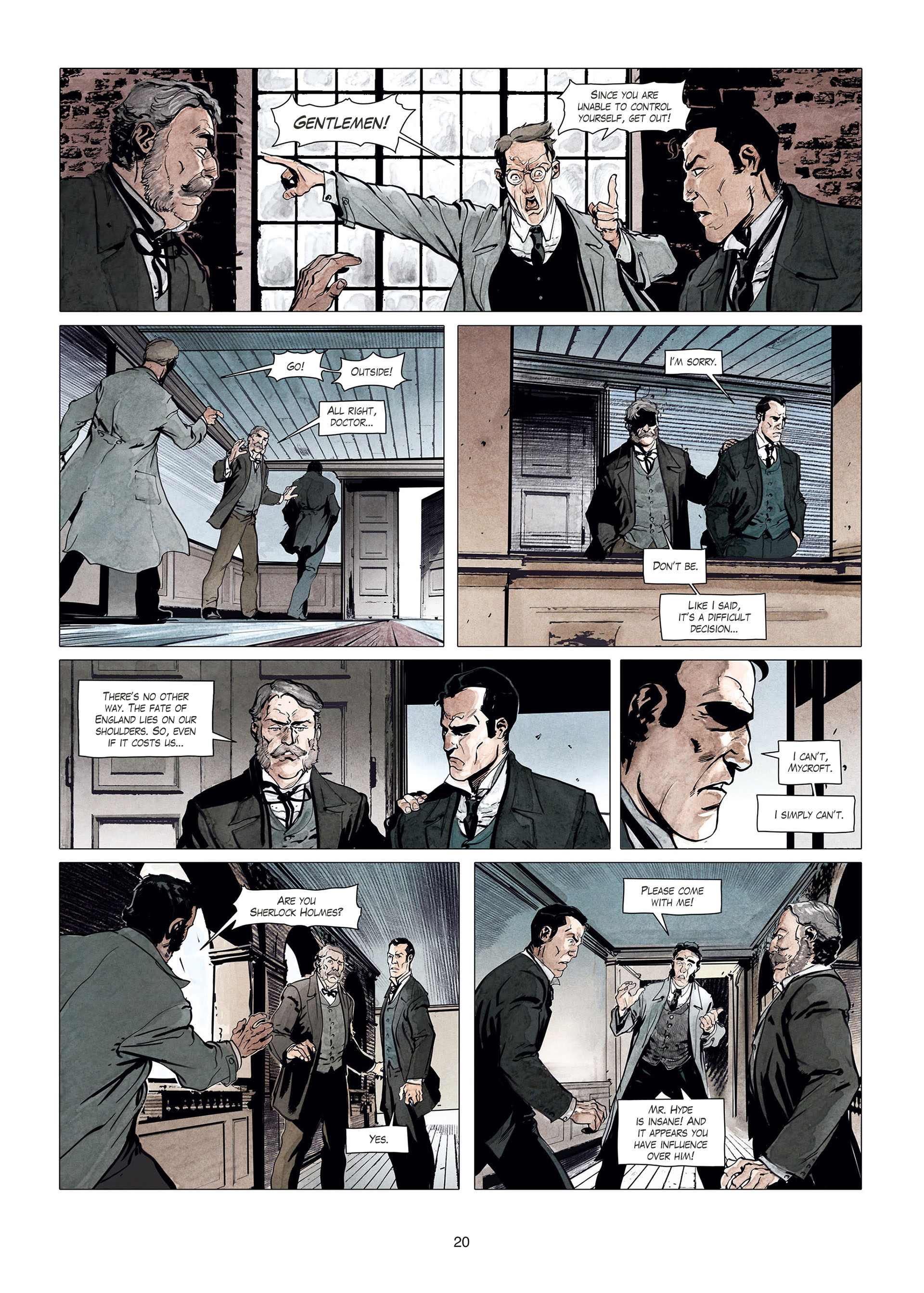 Read online Sherlock Holmes Society Tome 4 : Contamination comic -  Issue # Full - 20