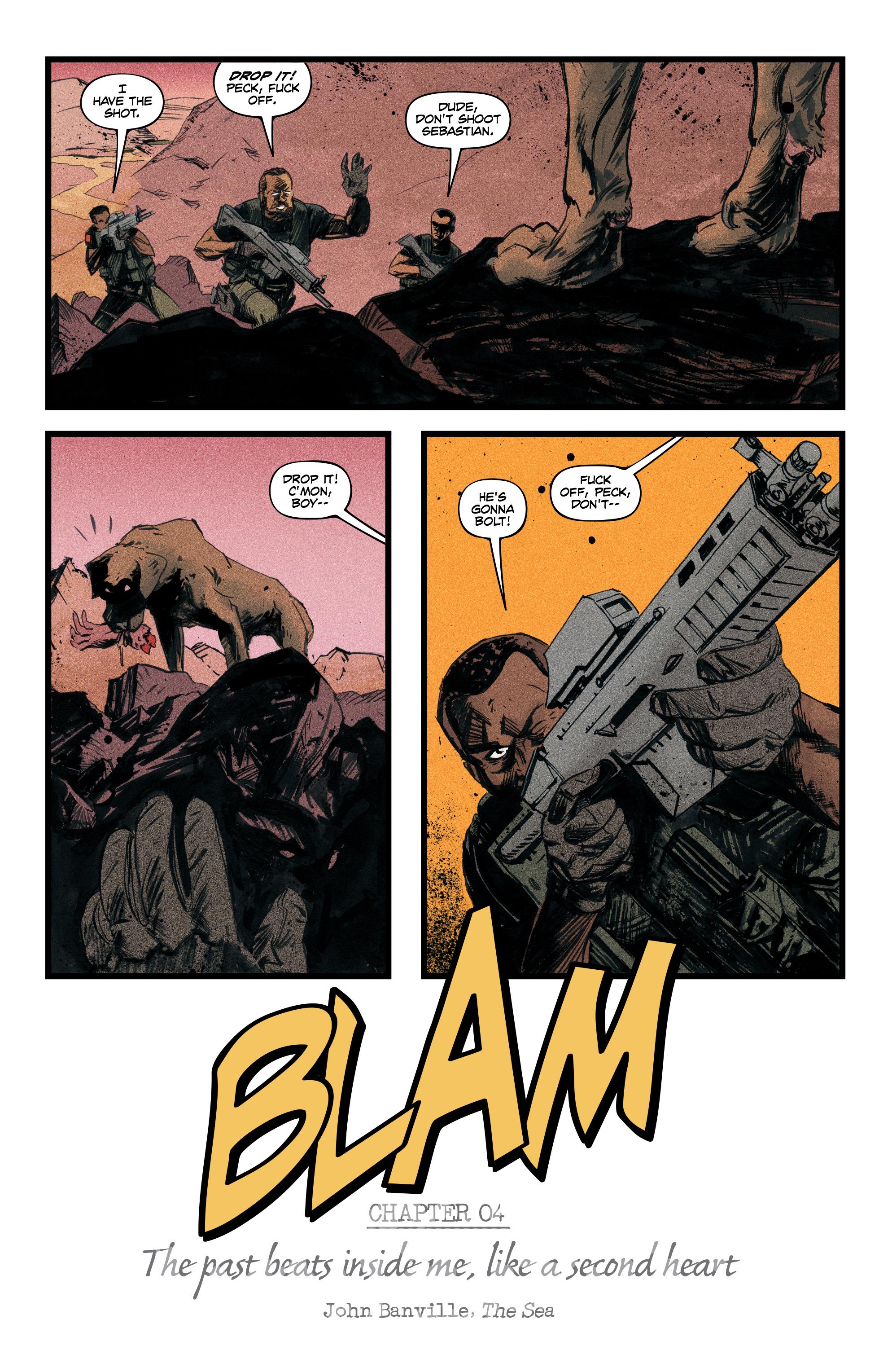 Read online Redline comic -  Issue #4 - 5