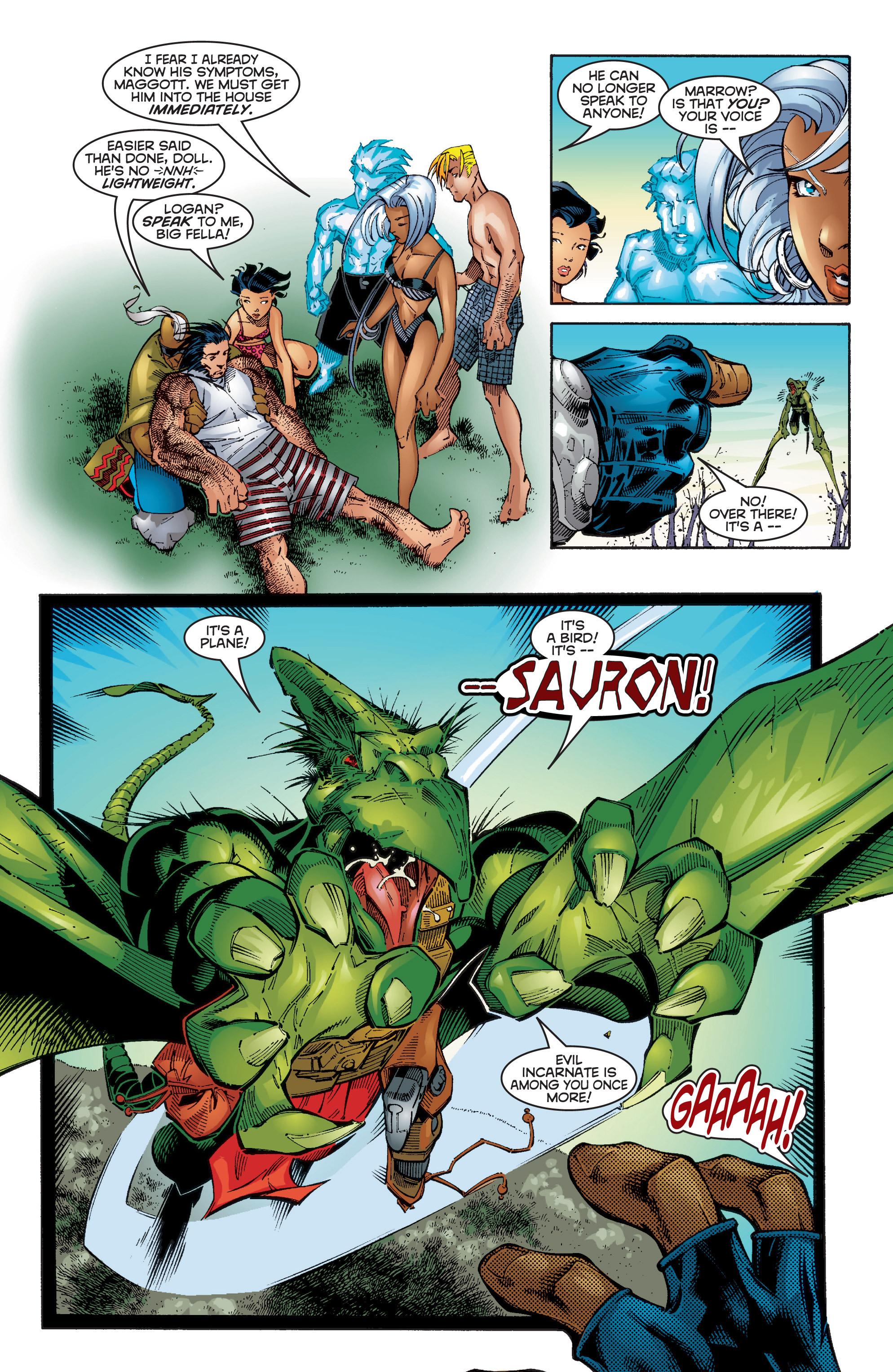 Read online Uncanny X-Men (1963) comic -  Issue #353 - 23