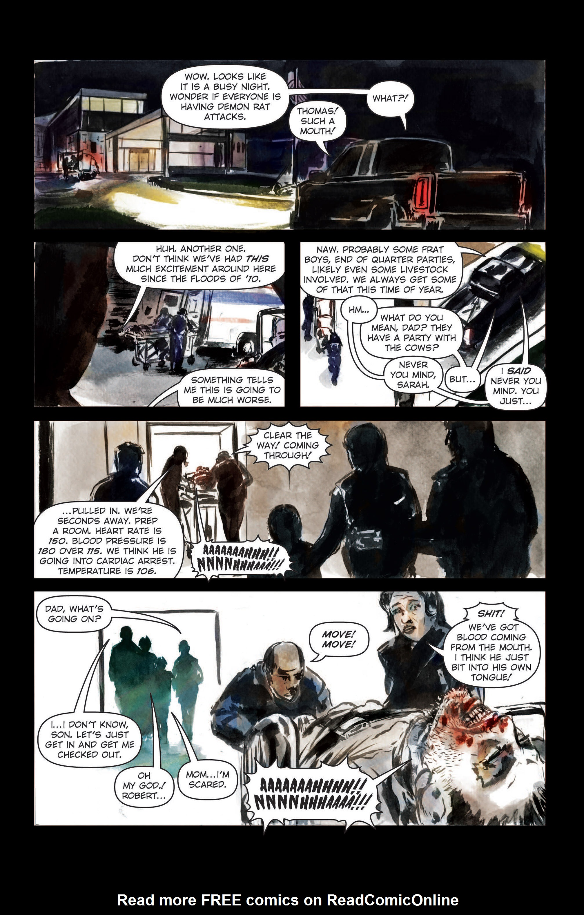 Read online The Final Plague comic -  Issue #3 - 12