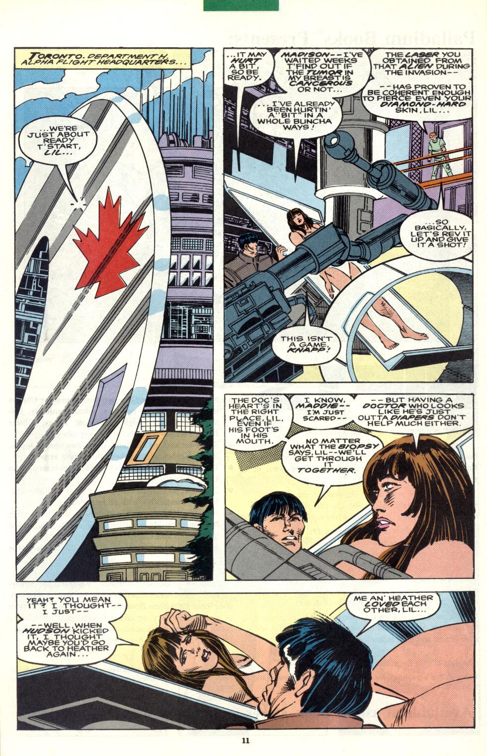 Read online Alpha Flight (1983) comic -  Issue #101 - 10