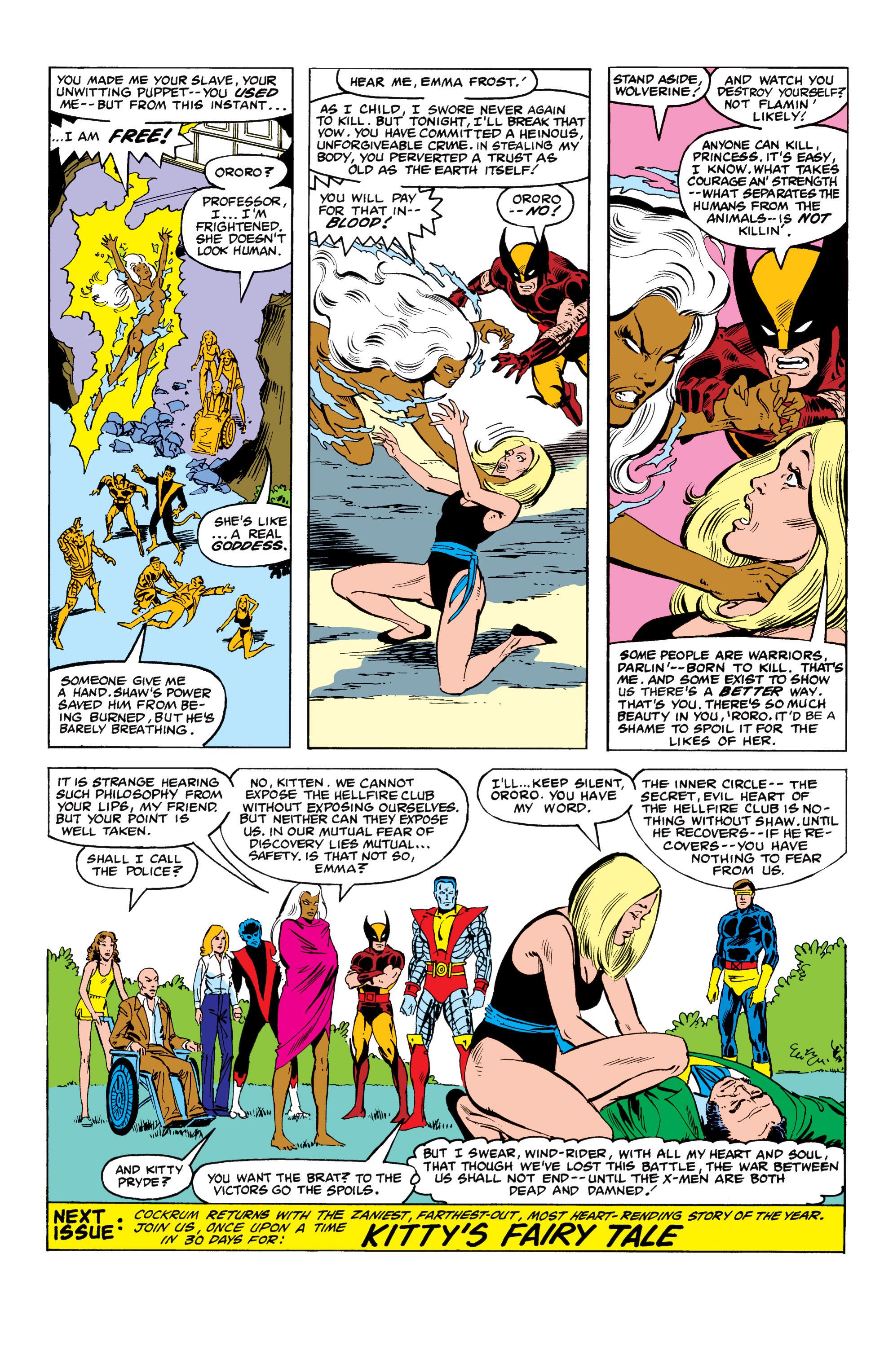 Read online Uncanny X-Men (1963) comic -  Issue #152 - 22