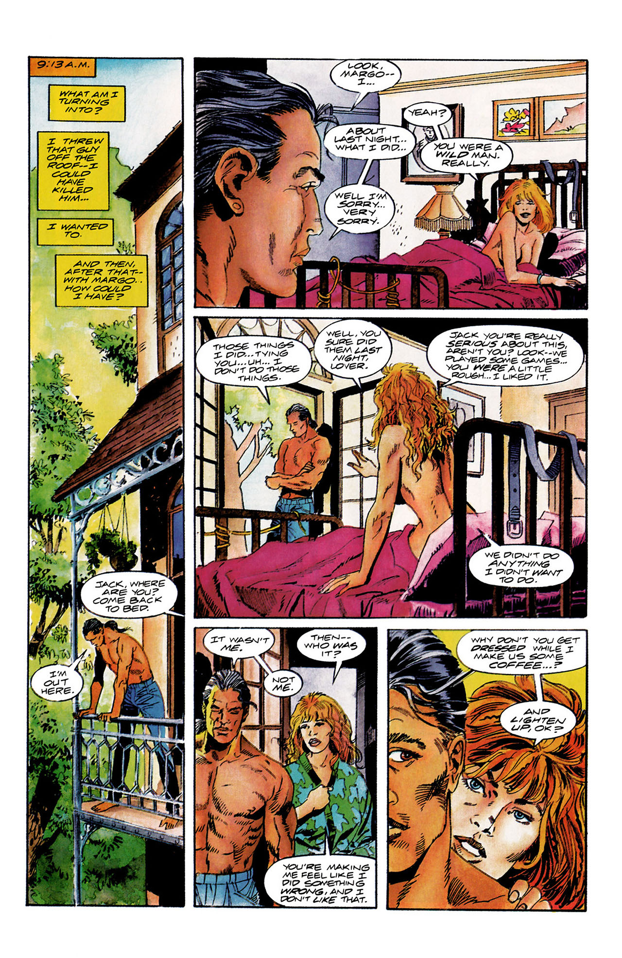 Read online Shadowman (1992) comic -  Issue #10 - 4