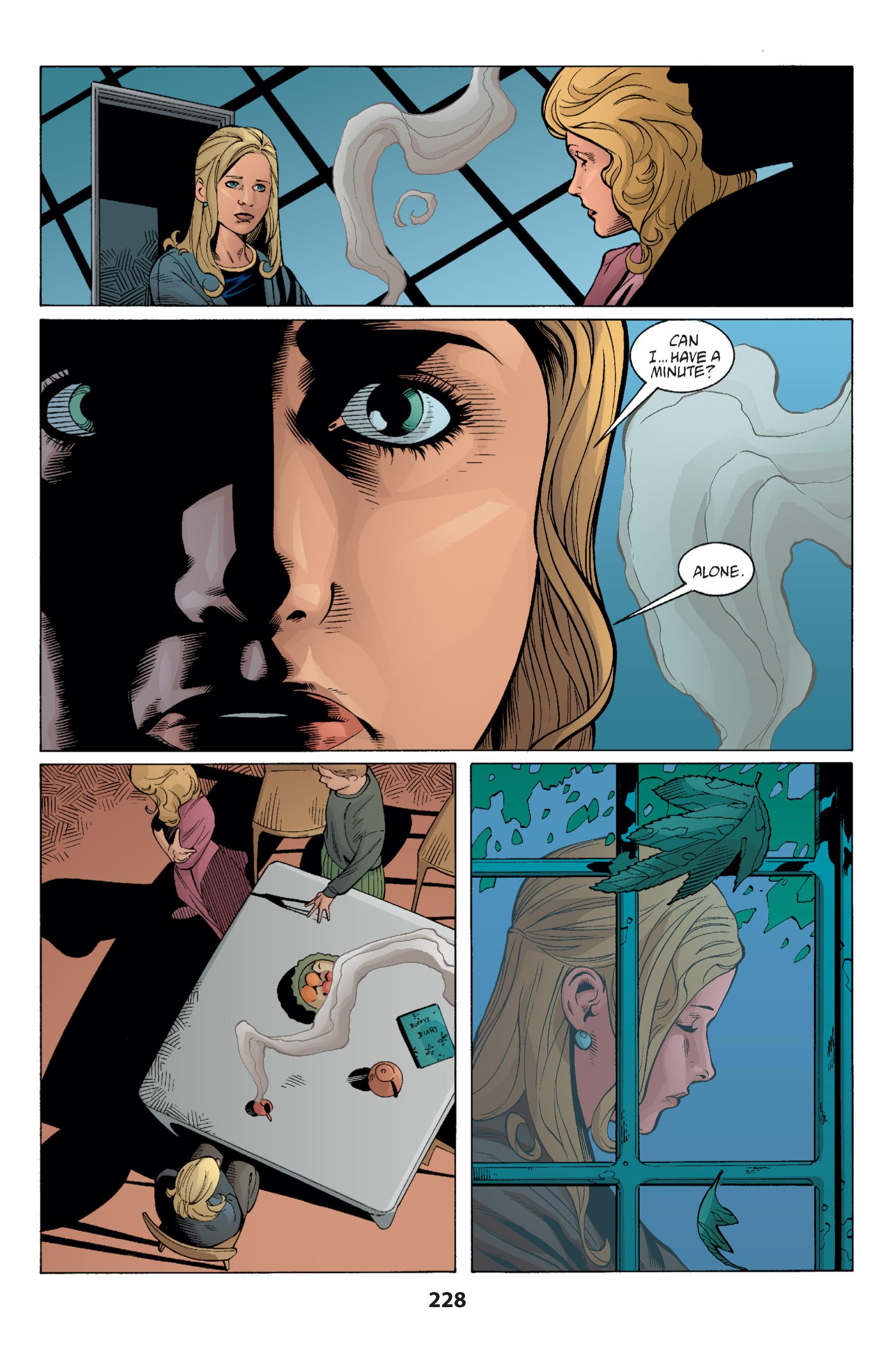 Read online Buffy the Vampire Slayer: Omnibus comic -  Issue # TPB 1 - 223