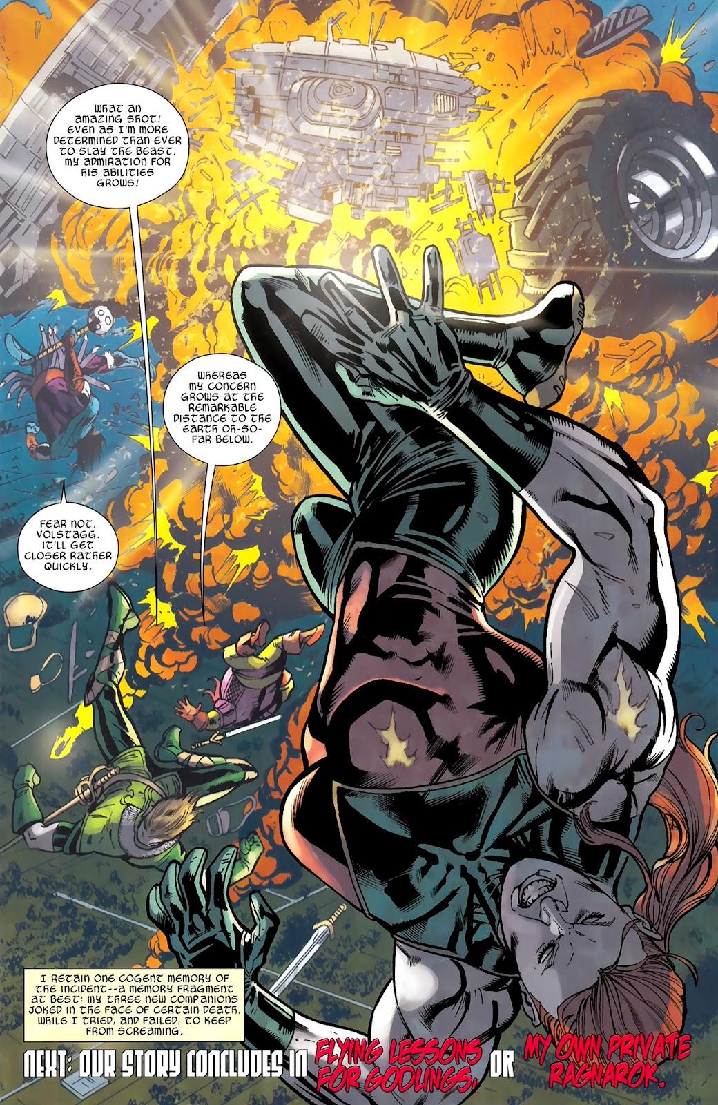 Warriors Three Issue #3 #3 - English 24