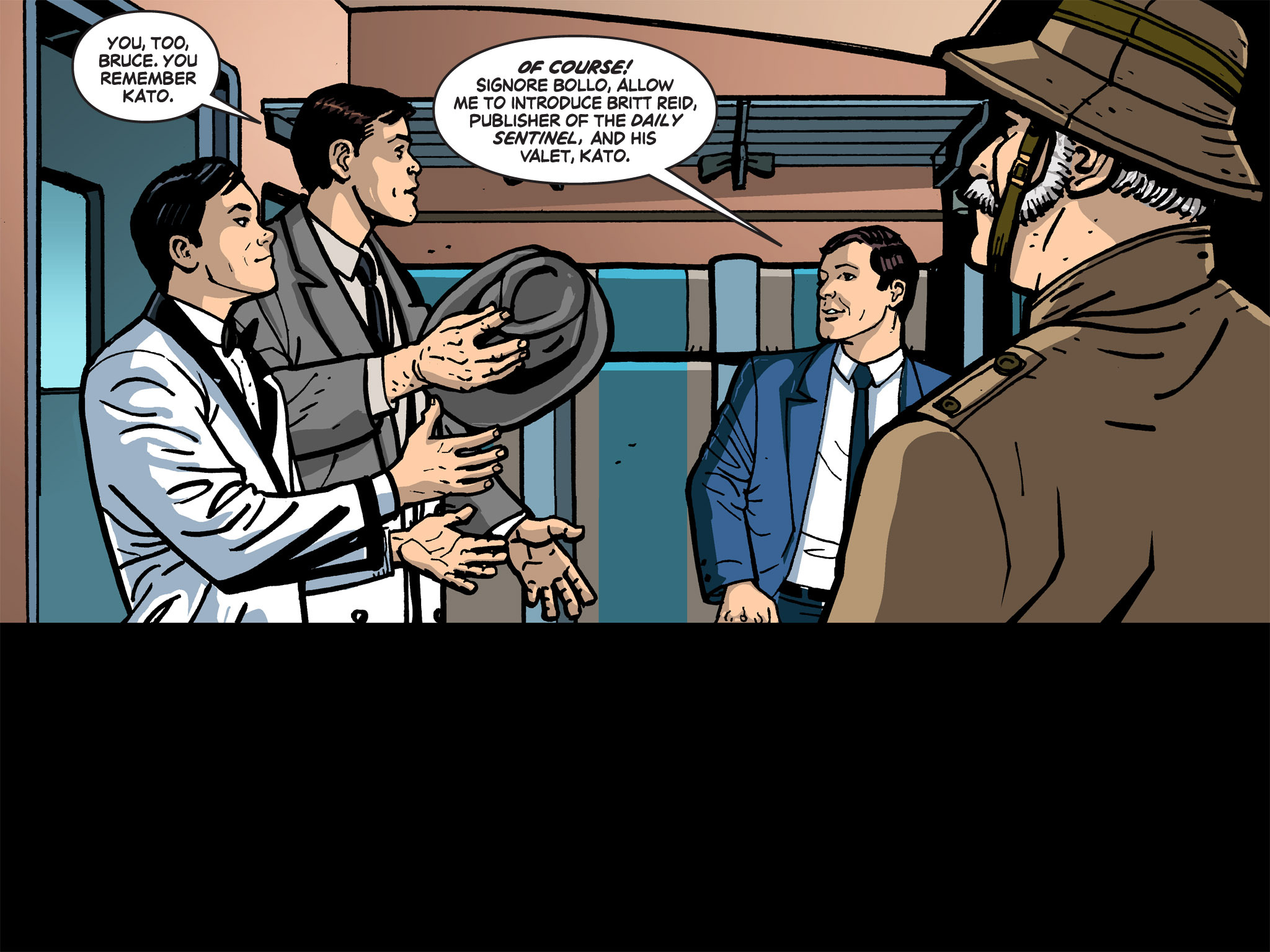 Read online Batman '66 Meets the Green Hornet [II] comic -  Issue #1 - 42