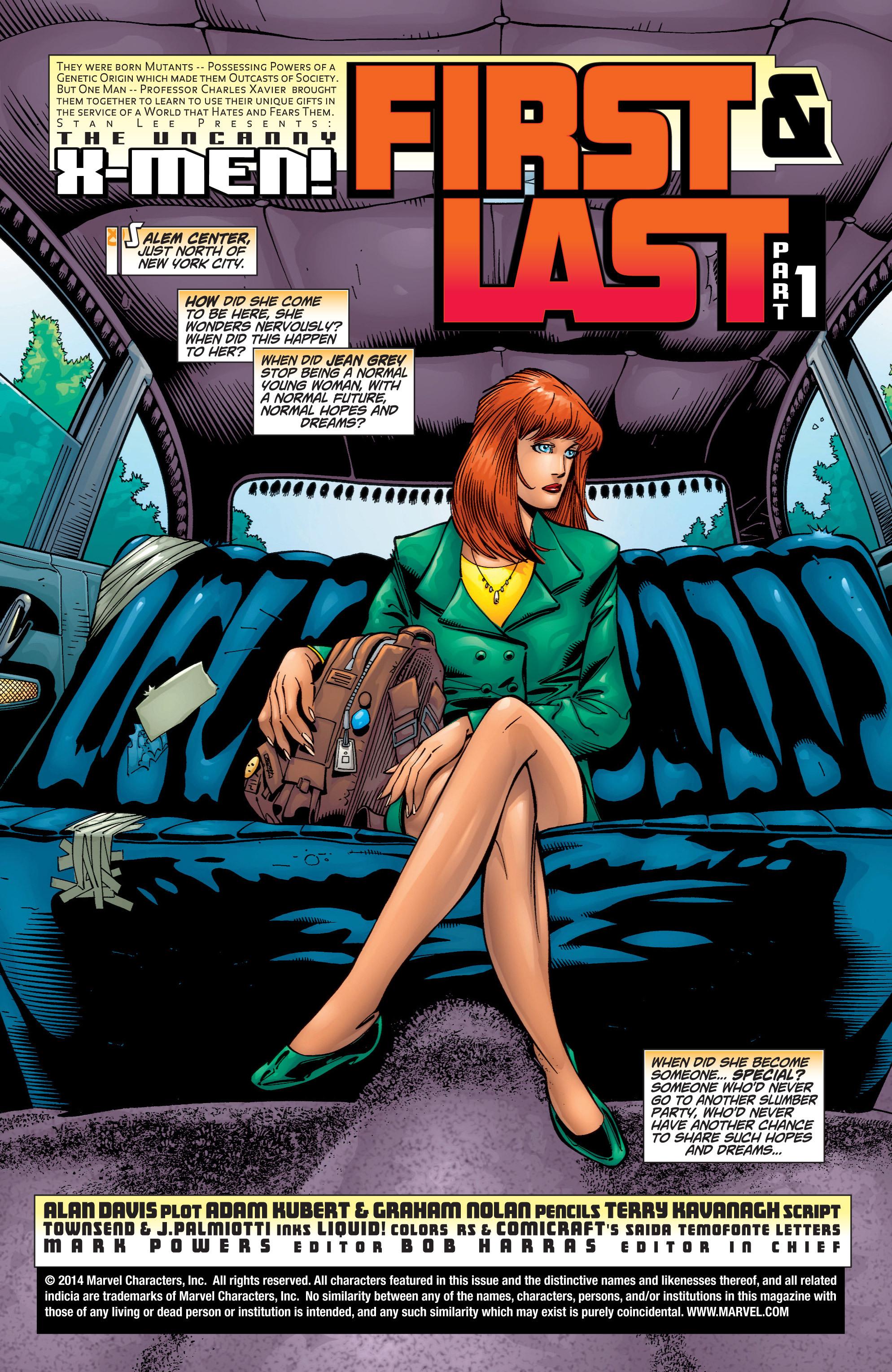 Read online Uncanny X-Men (1963) comic -  Issue #378 - 2