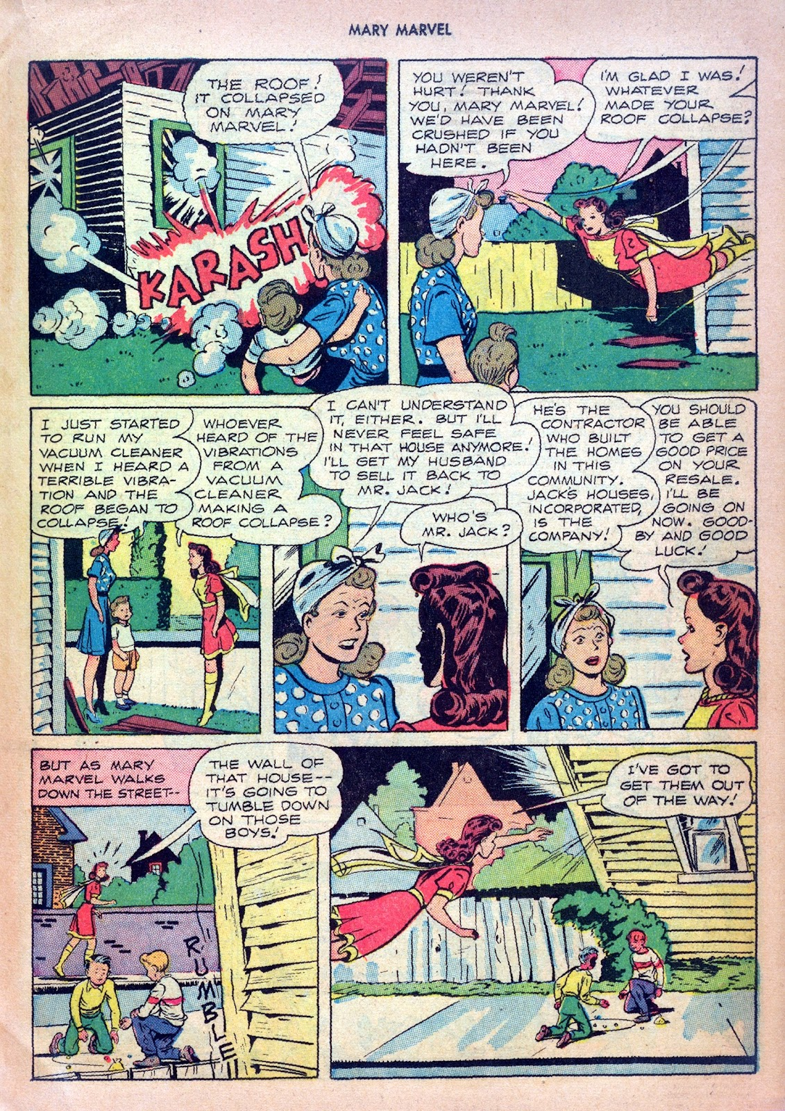 Read online Mary Marvel comic -  Issue #27 - 19