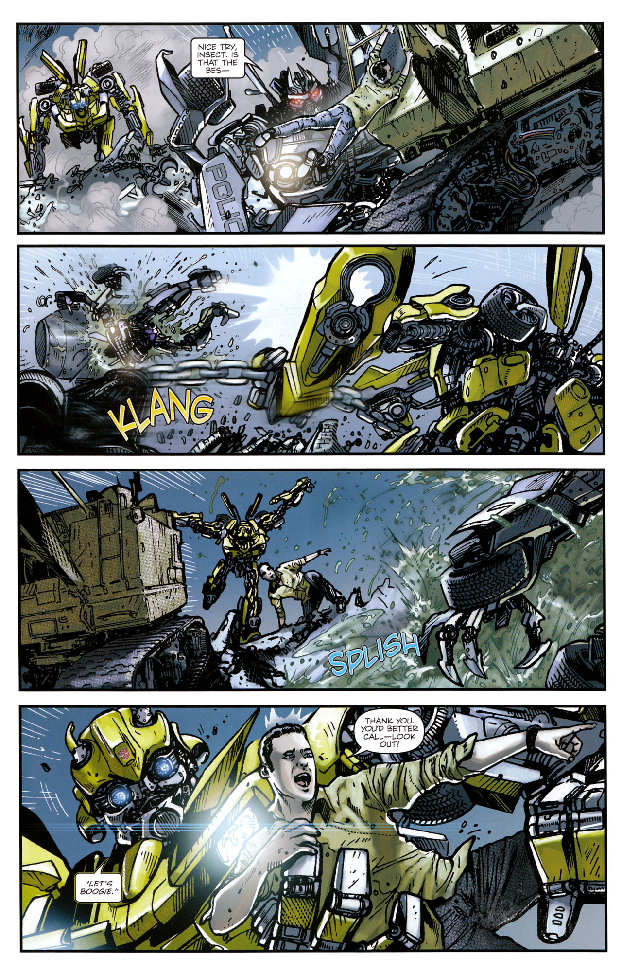 Read online Transformers: Tales of The Fallen comic -  Issue #1 - 21