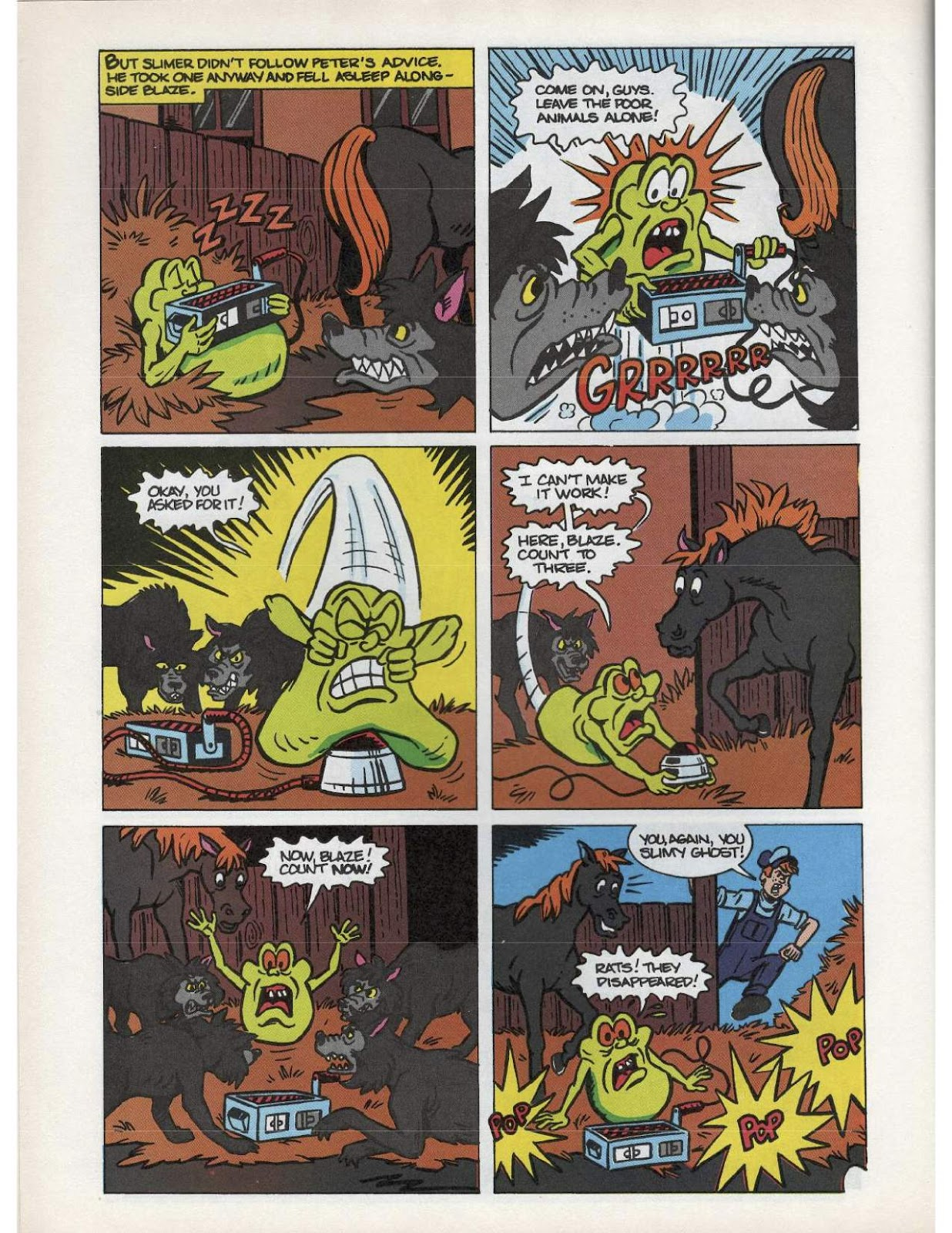 The Real Ghostbusters Issue #193 #167 - English 8