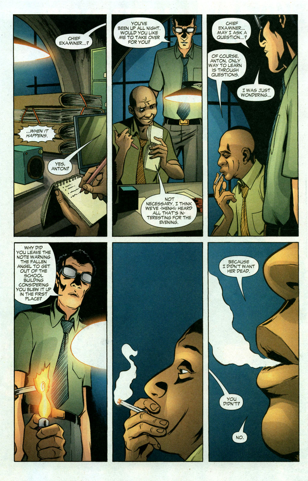 Read online Fallen Angel (2003) comic -  Issue #18 - 9