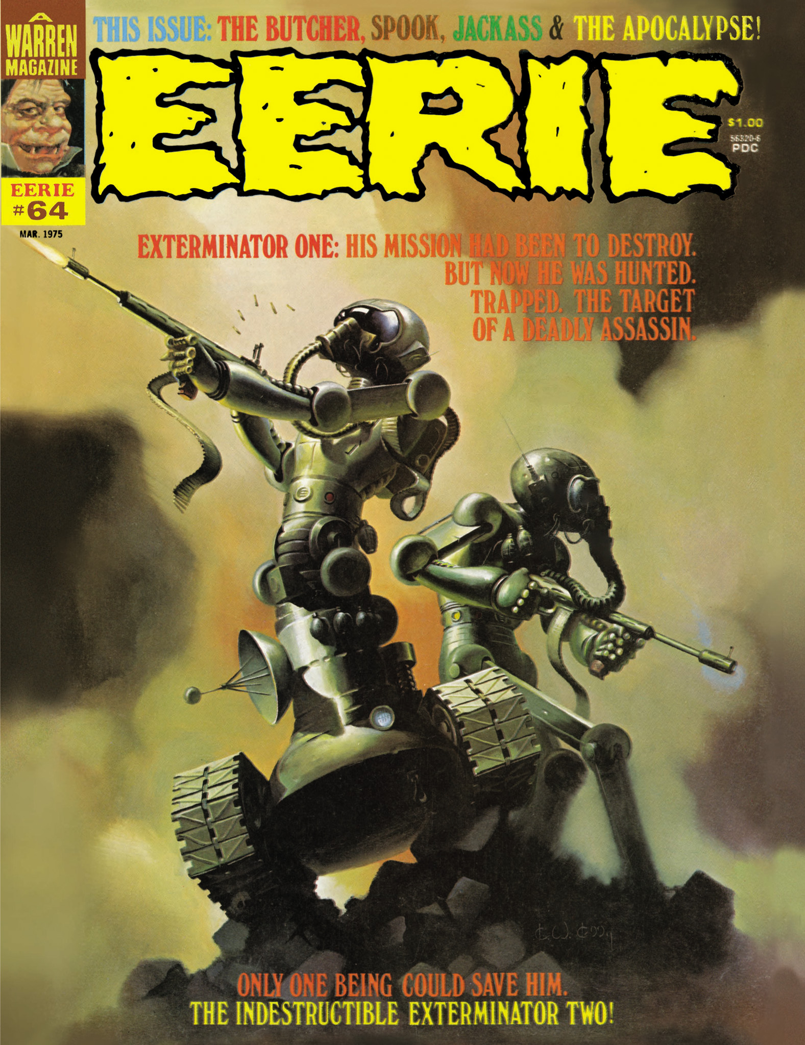 Read online Eerie Archives comic -  Issue # TPB 13 - 202