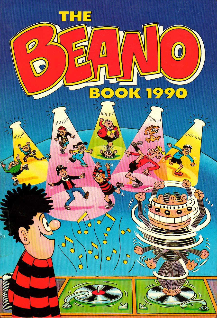 The Beano Book (Annual) 1990 Page 1