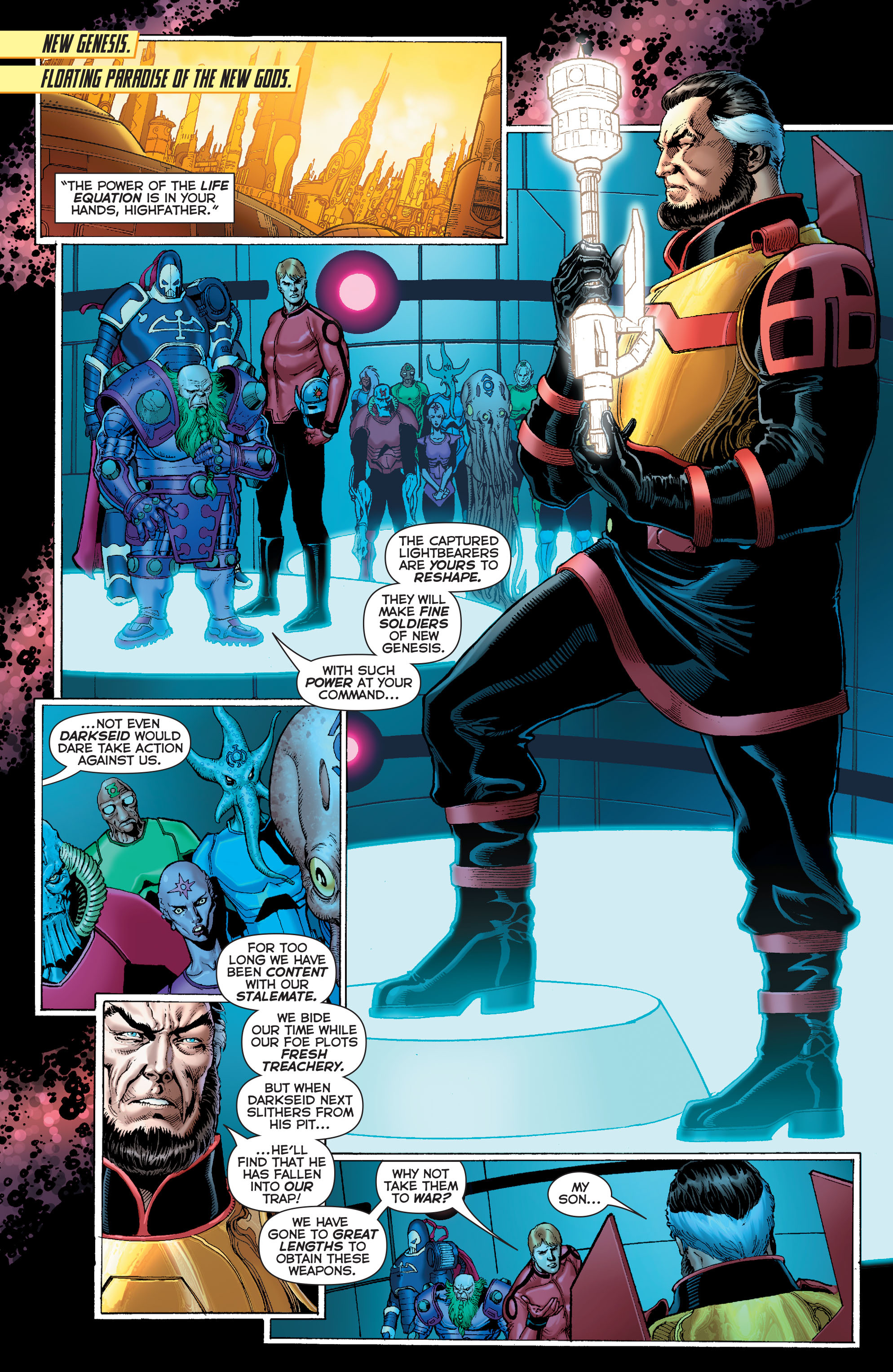 Read online Sinestro comic -  Issue #7 - 2