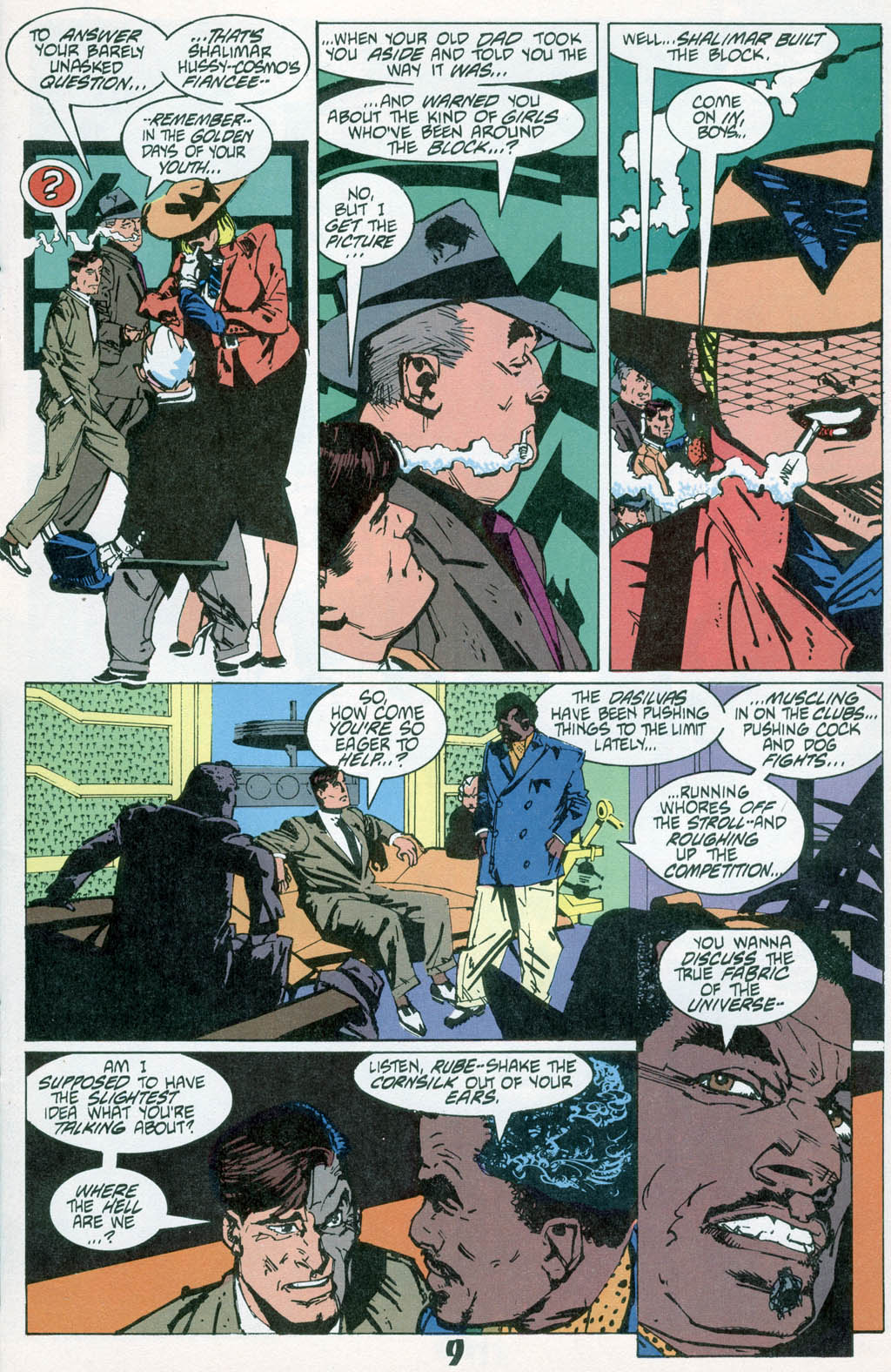 Read online American Flagg! comic -  Issue # _Special 1 - 11