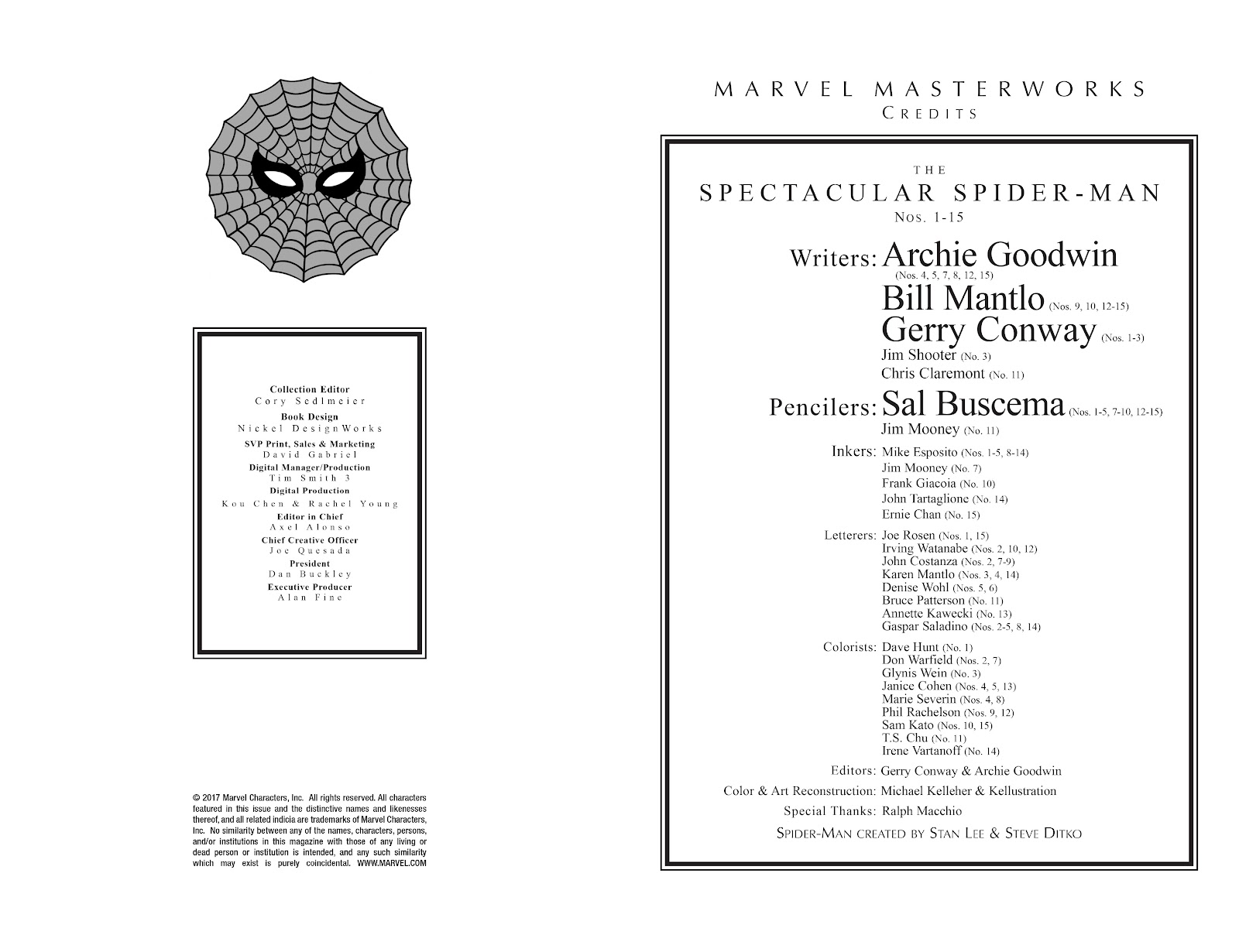 Read online Marvel Masterworks: The Spectacular Spider-Man comic -  Issue # TPB (Part 1) - 3