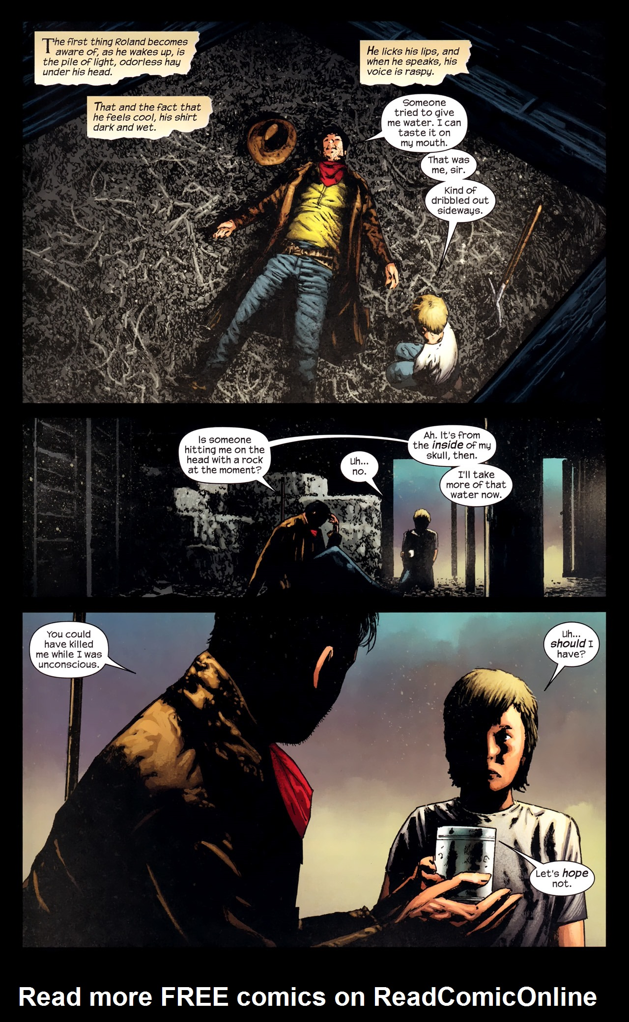 Read online Dark Tower: The Gunslinger - The Way Station comic -  Issue #2 - 3