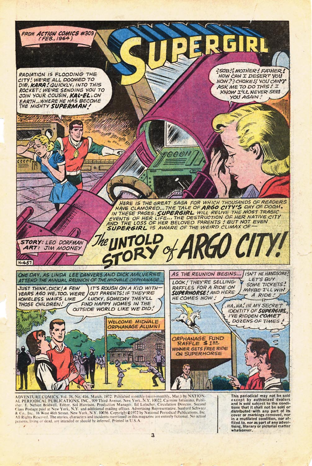 Read online Adventure Comics (1938) comic -  Issue #416 - 3