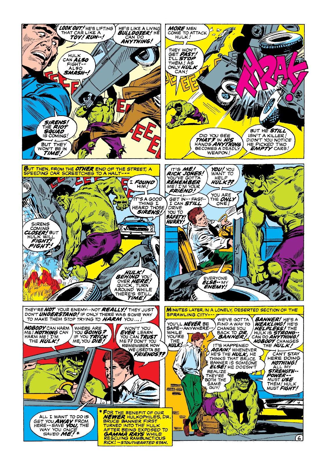 Read online Marvel Masterworks: The Incredible Hulk comic -  Issue # TPB 3 (Part 1) - 68