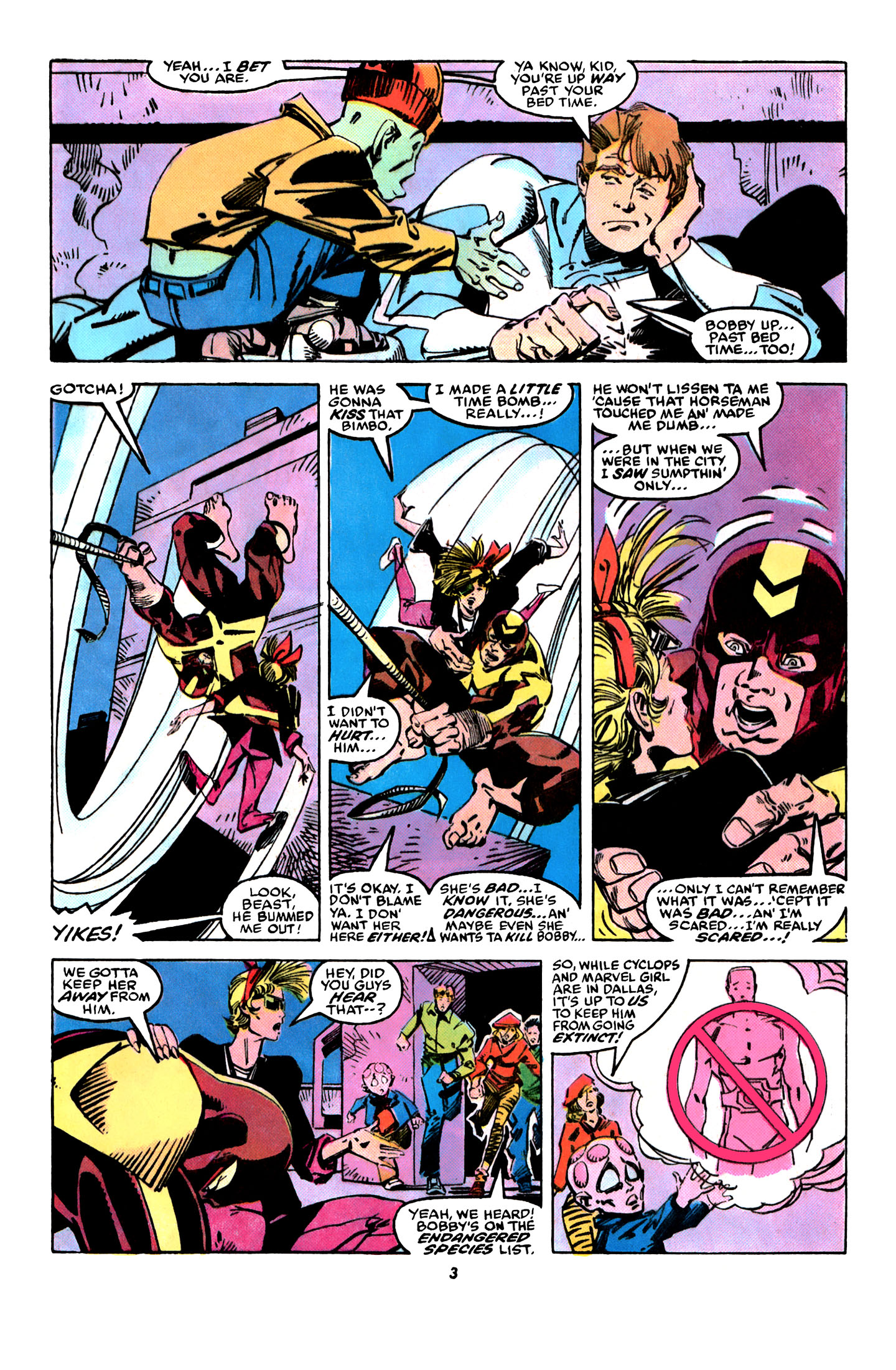 Read online X-Factor (1986) comic -  Issue #31 - 4