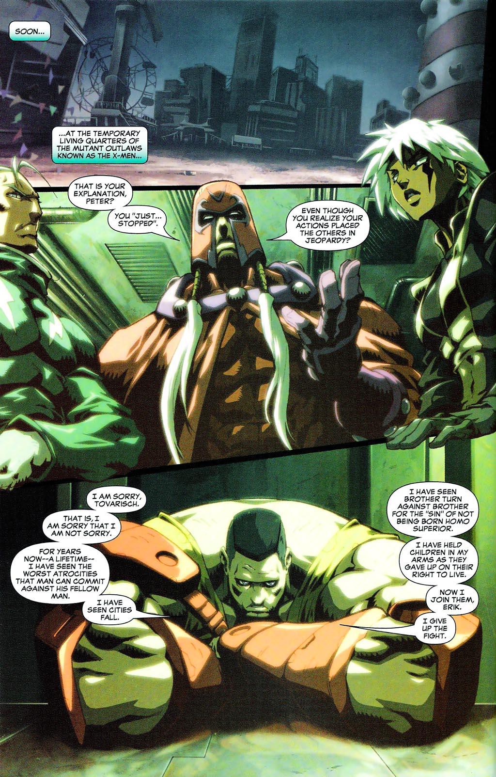 Read online Age of Apocalypse (2005) comic -  Issue #0 - 5