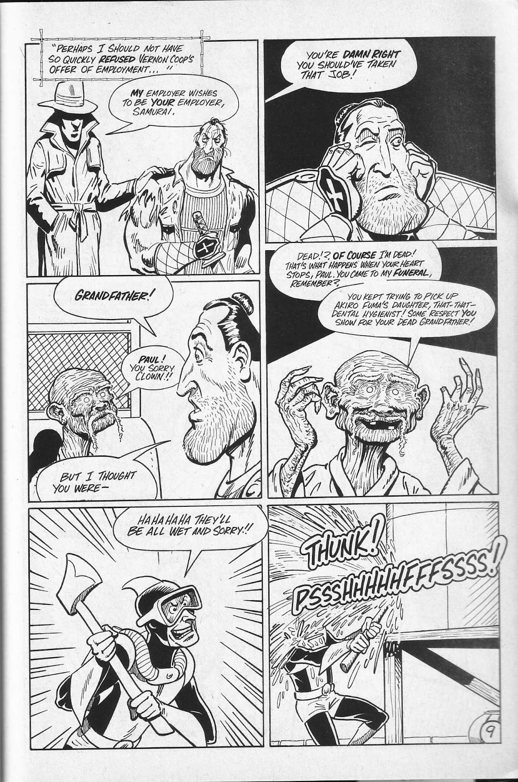 Read online Paul the Samurai (1991) comic -  Issue # TPB - 75