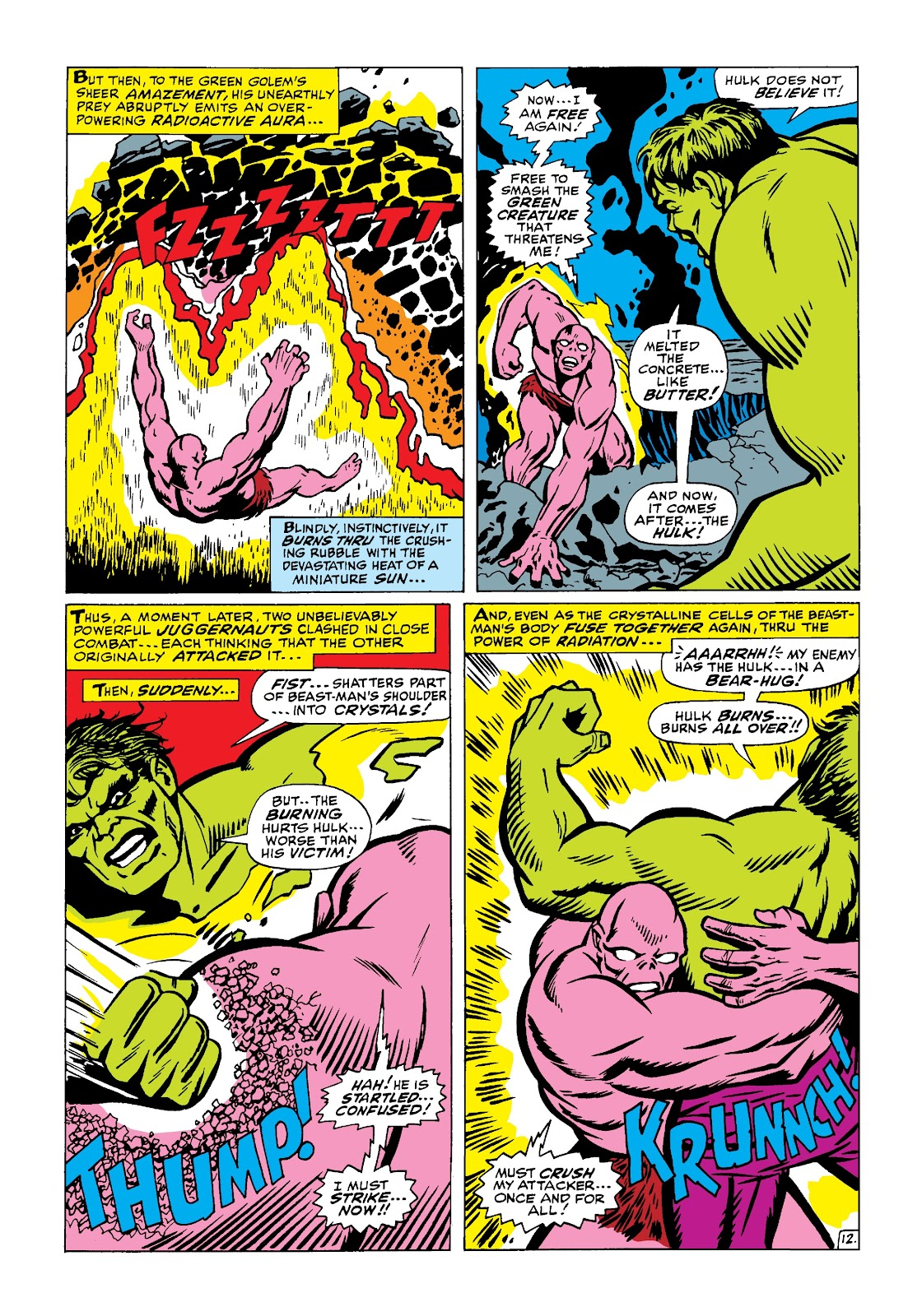 Read online Marvel Masterworks: The Incredible Hulk comic -  Issue # TPB 4 (Part 1) - 61