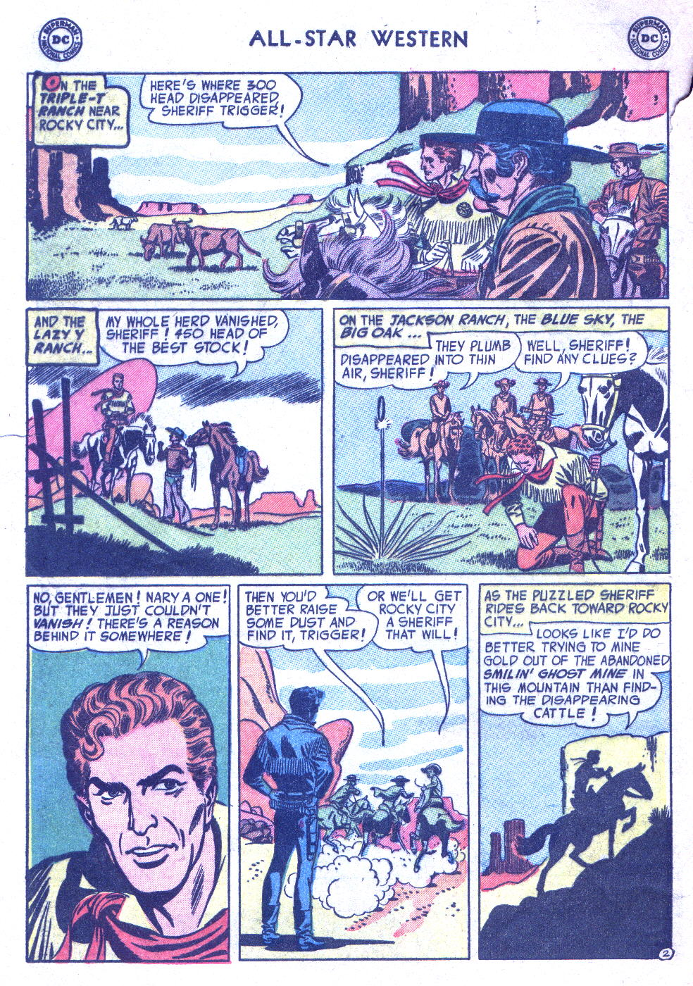Read online All-Star Western (1951) comic -  Issue #77 - 4