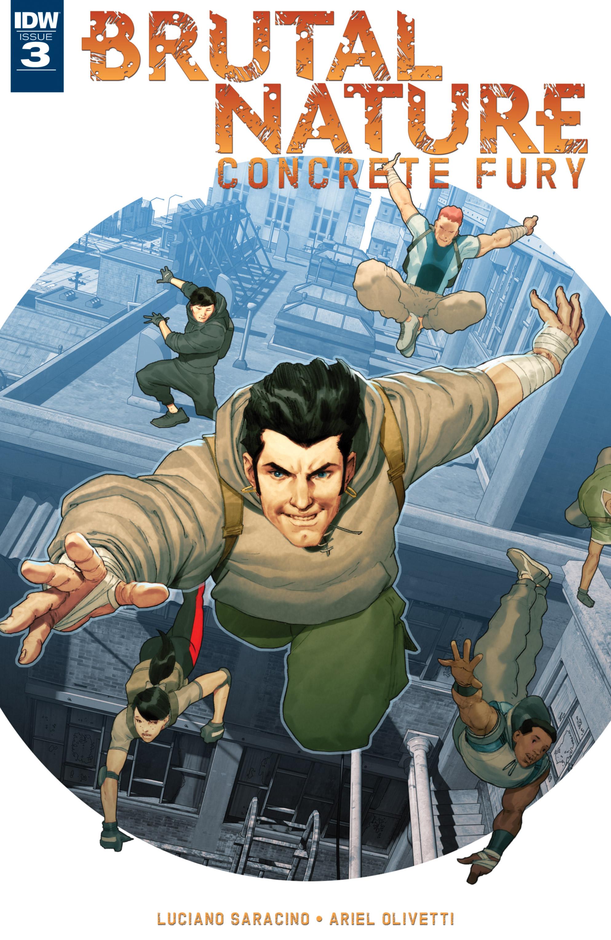 Brutal Nature: Concrete Fury 3 Page 1