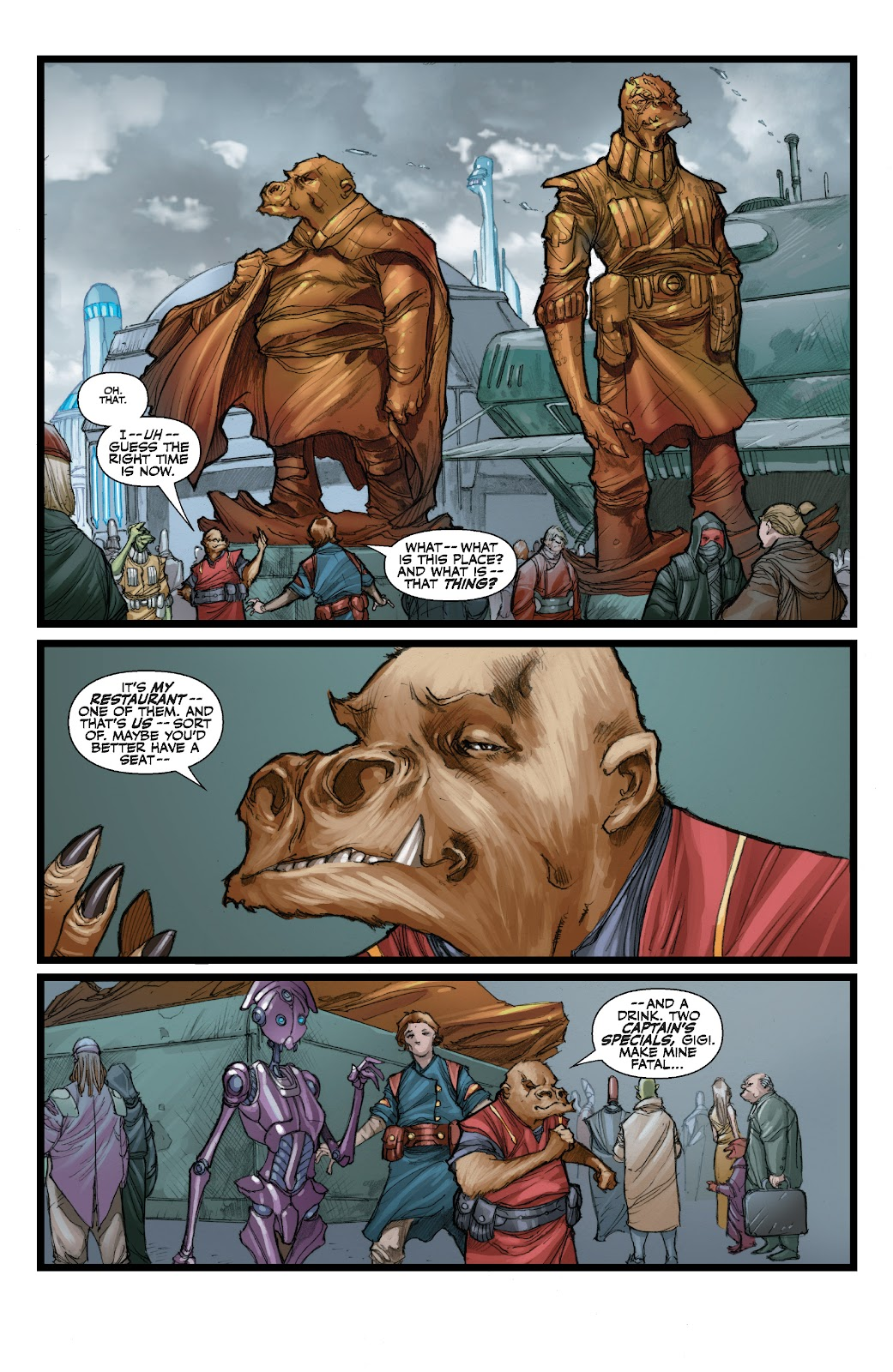 Read online Star Wars Legends: The Old Republic - Epic Collection comic -  Issue # TPB 3 (Part 3) - 19
