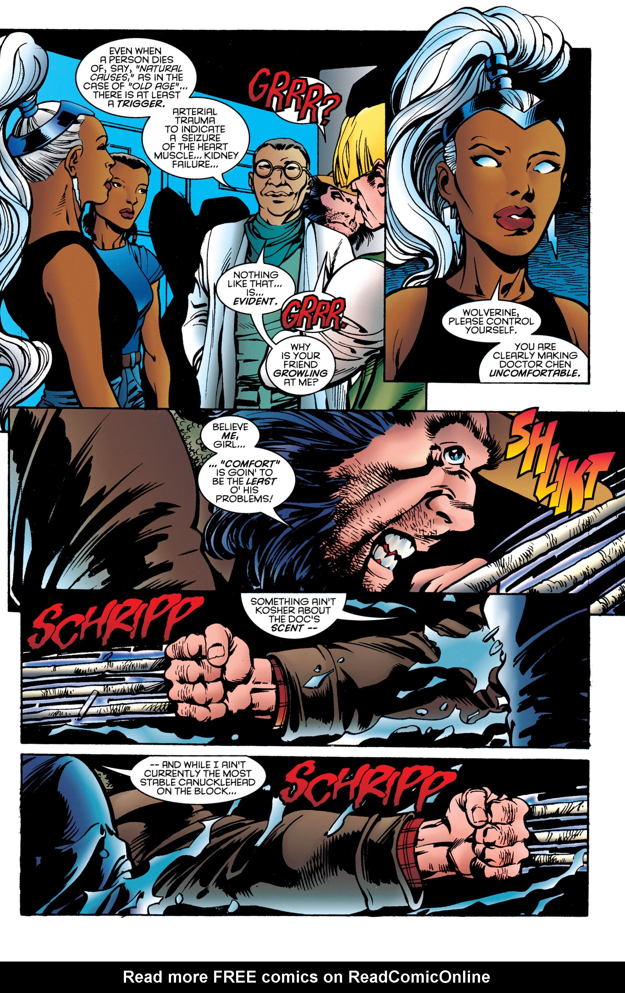 Read online Uncanny X-Men (1963) comic -  Issue #323 - 19