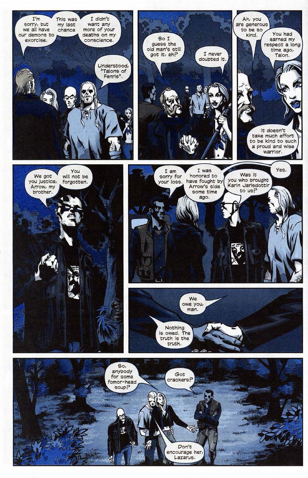 Read online Werewolf the Apocalypse comic -  Issue # Get of Fenris - 50
