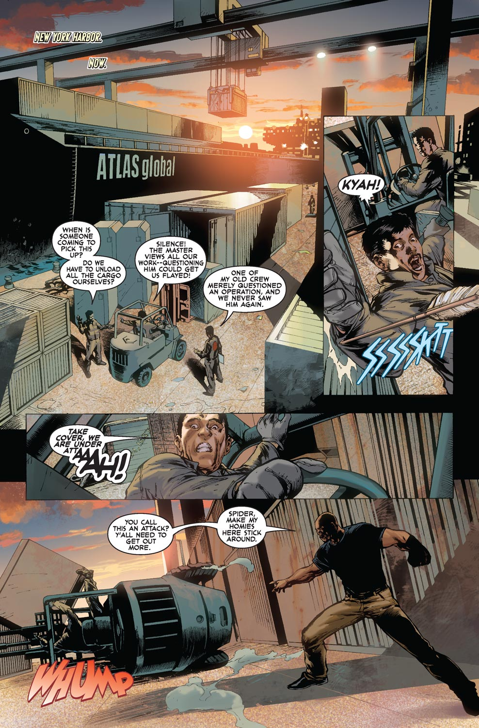 Read online Agents Of Atlas (2009) comic -  Issue #5 - 3