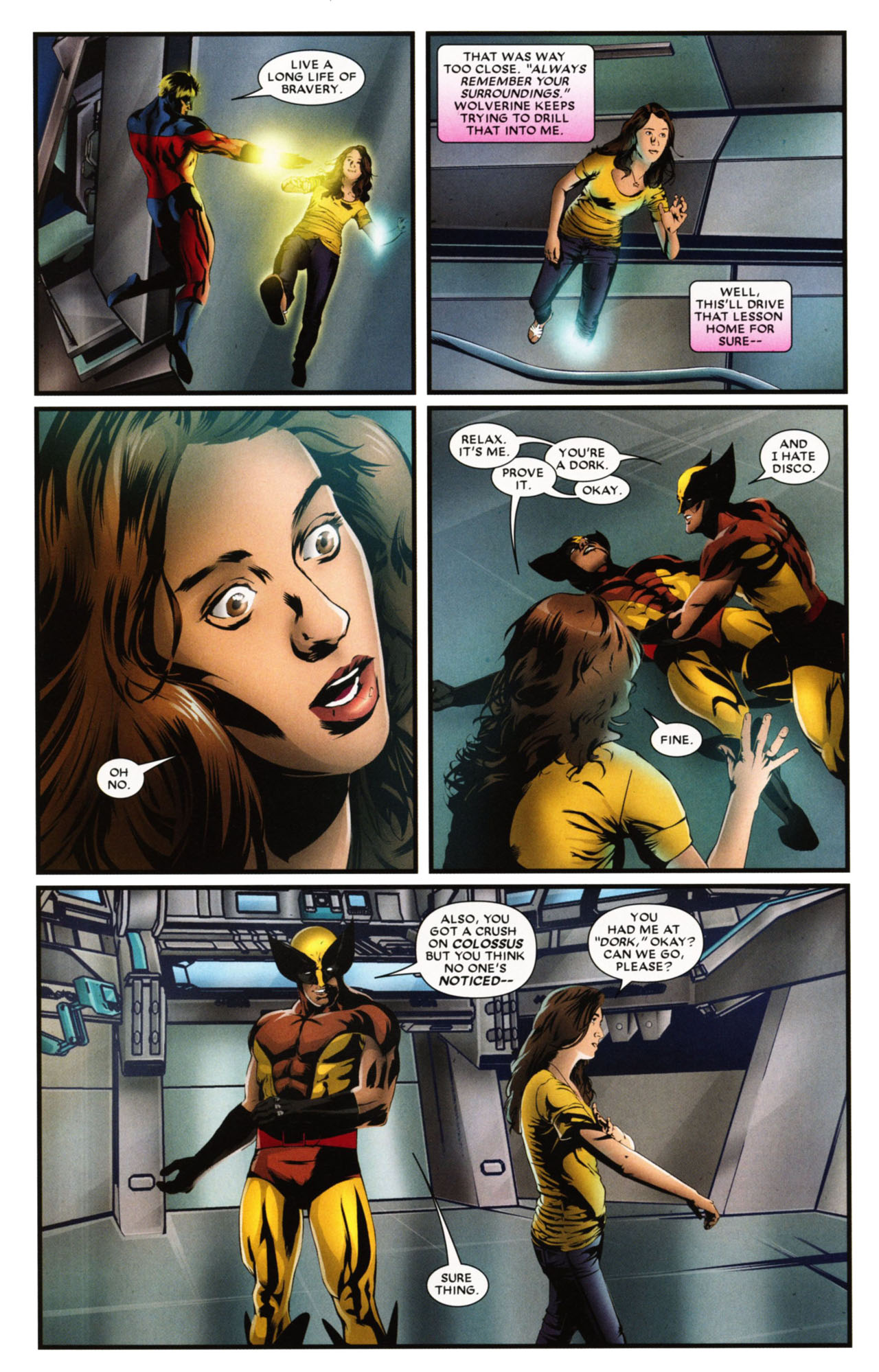 Read online Wolverine: First Class comic -  Issue #20 - 21