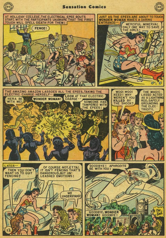 Read online Sensation (Mystery) Comics comic -  Issue #80 - 13