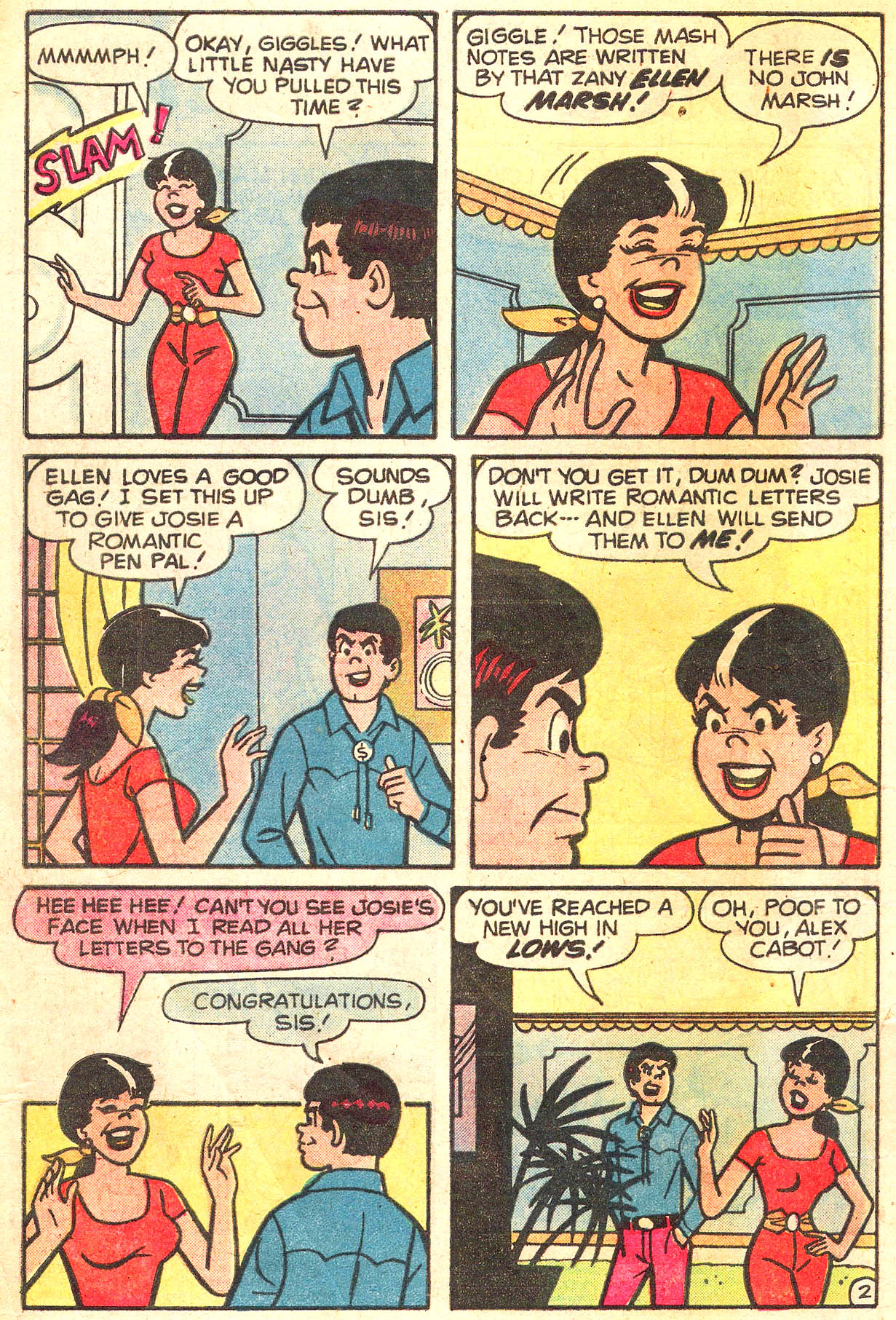 Read online She's Josie comic -  Issue #100 - 4