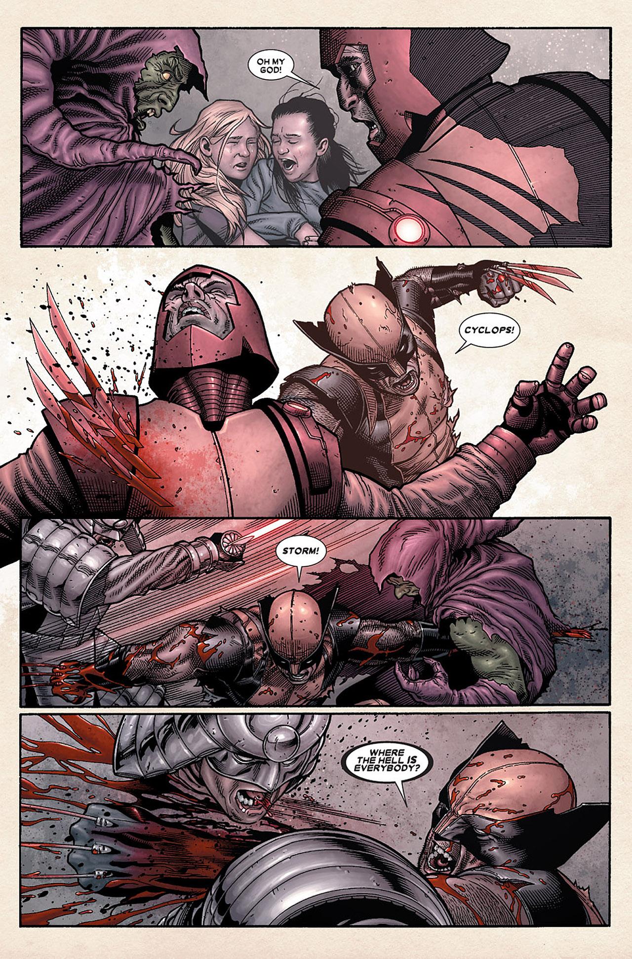 Read online Wolverine: Old Man Logan comic -  Issue # Full - 100