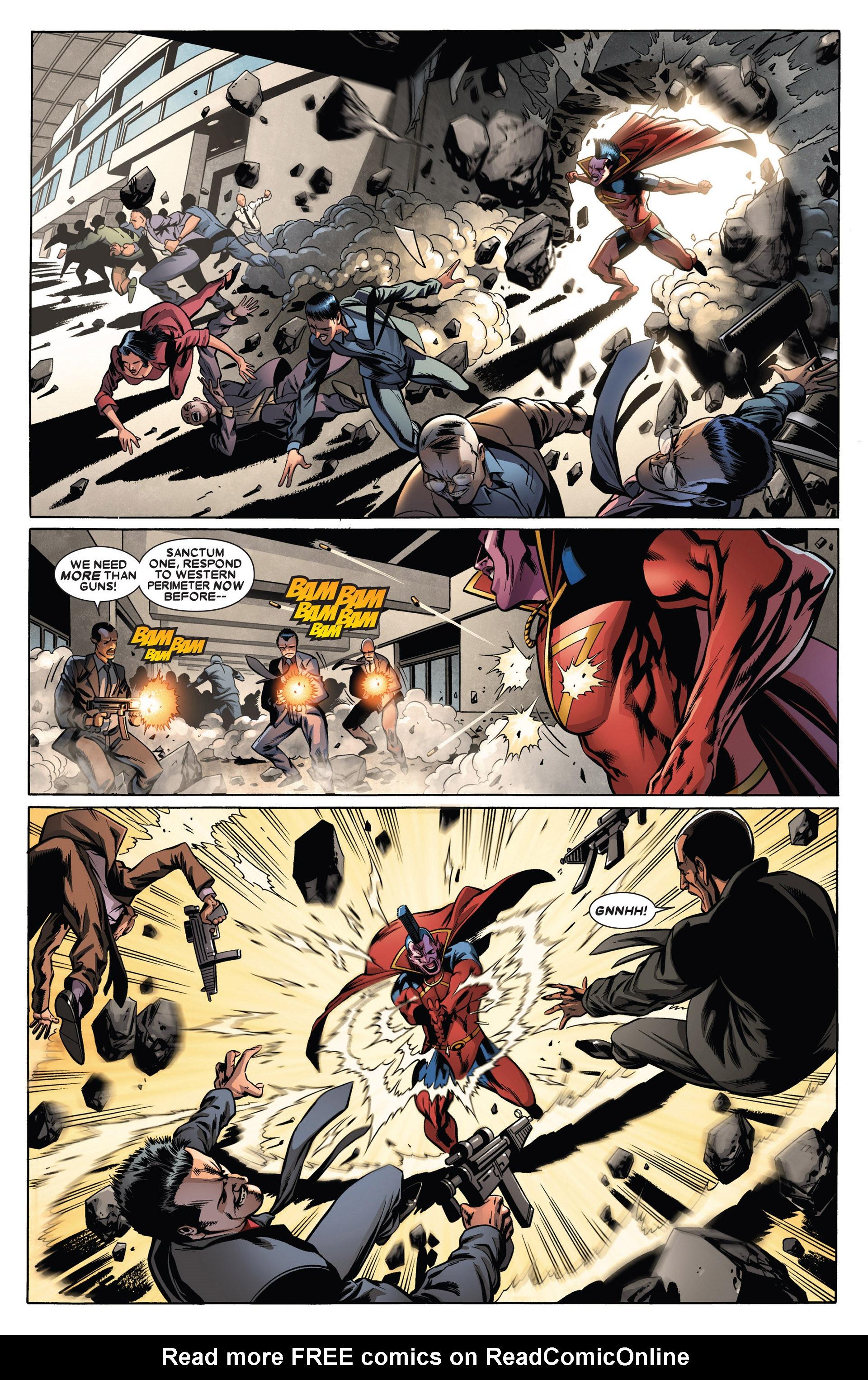 Read online Annihilators: Earthfall comic -  Issue #1 - 16