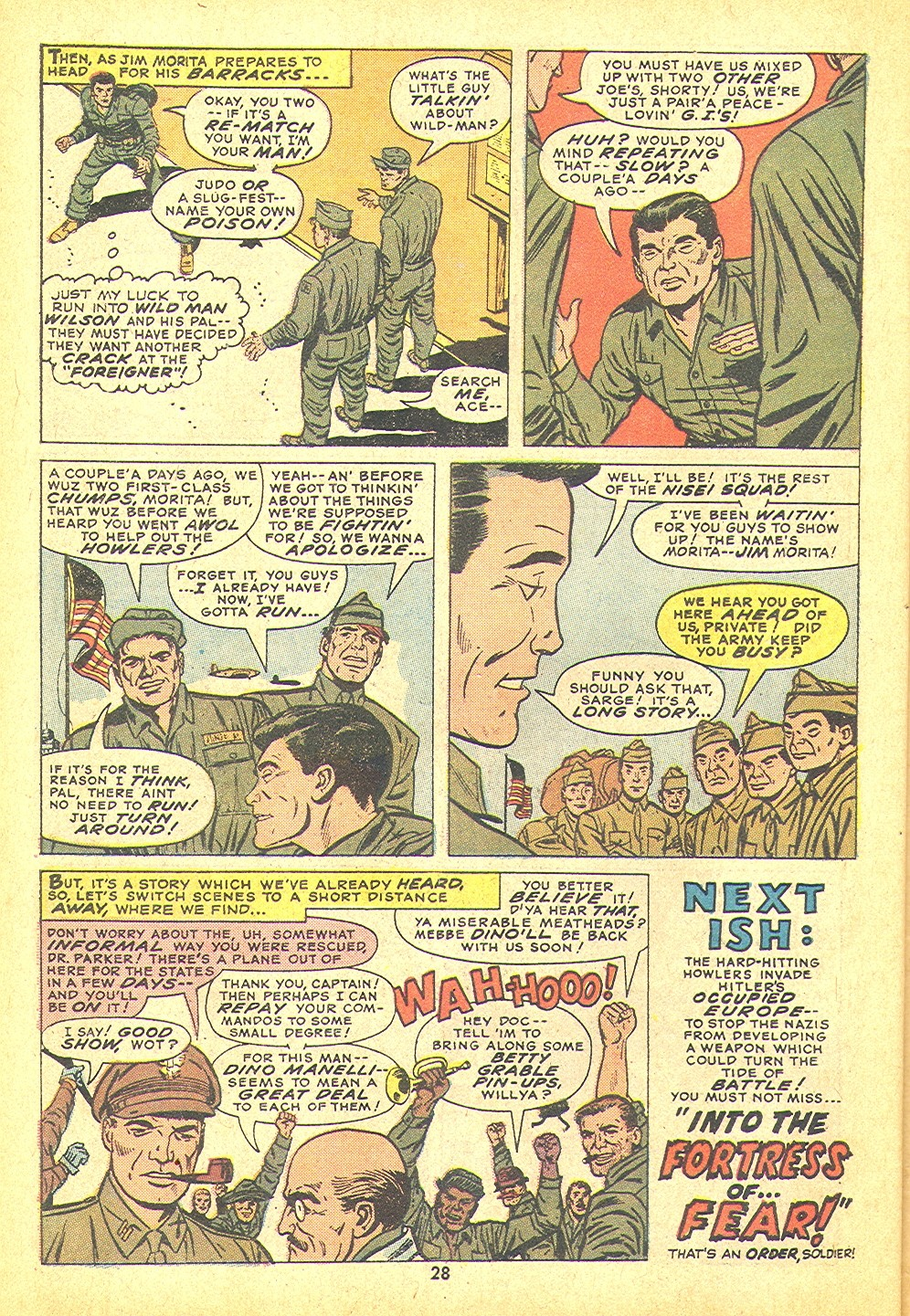 Read online Sgt. Fury comic -  Issue #109 - 30
