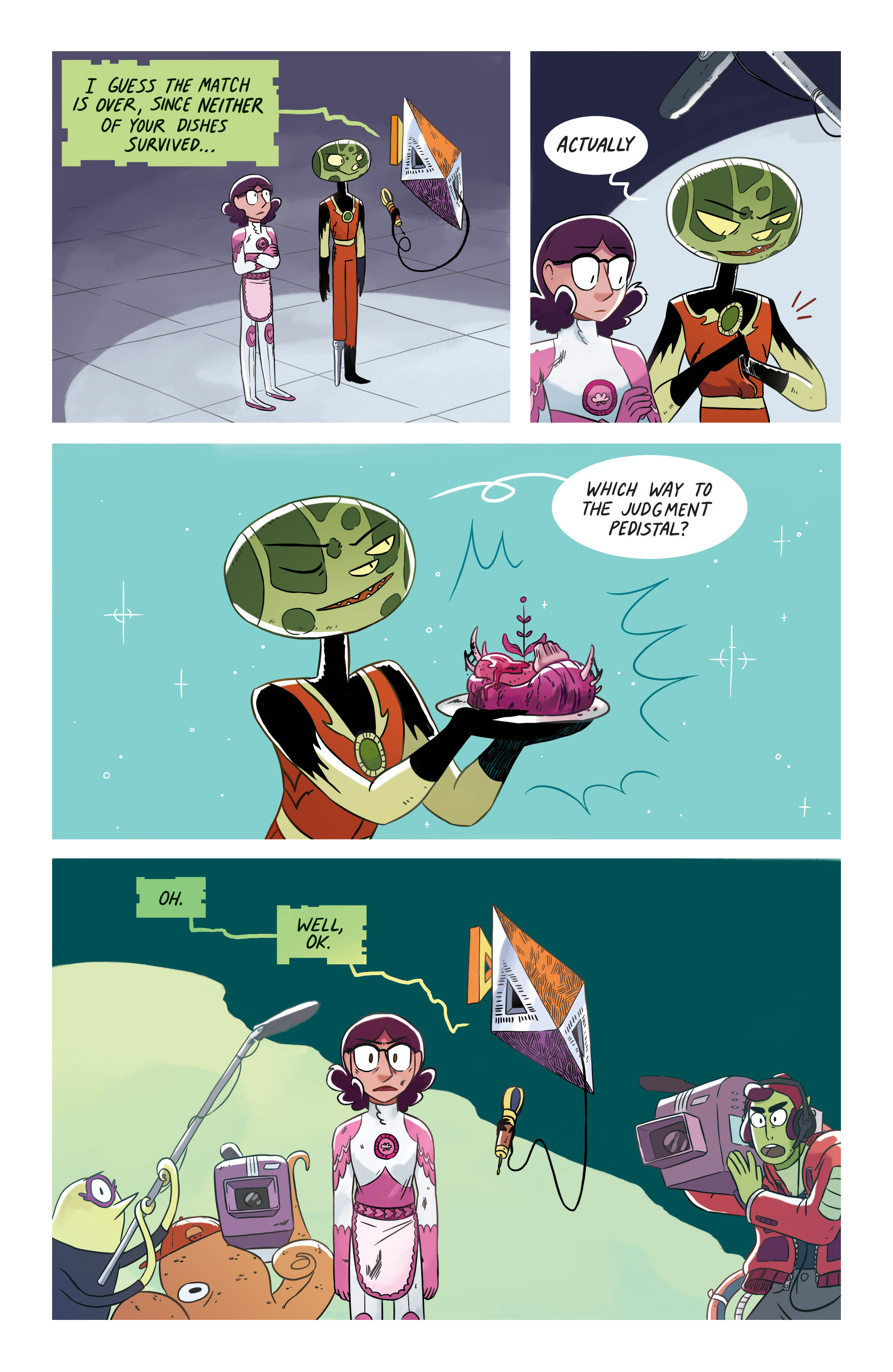 Read online Space Battle Lunchtime comic -  Issue #8 - 17